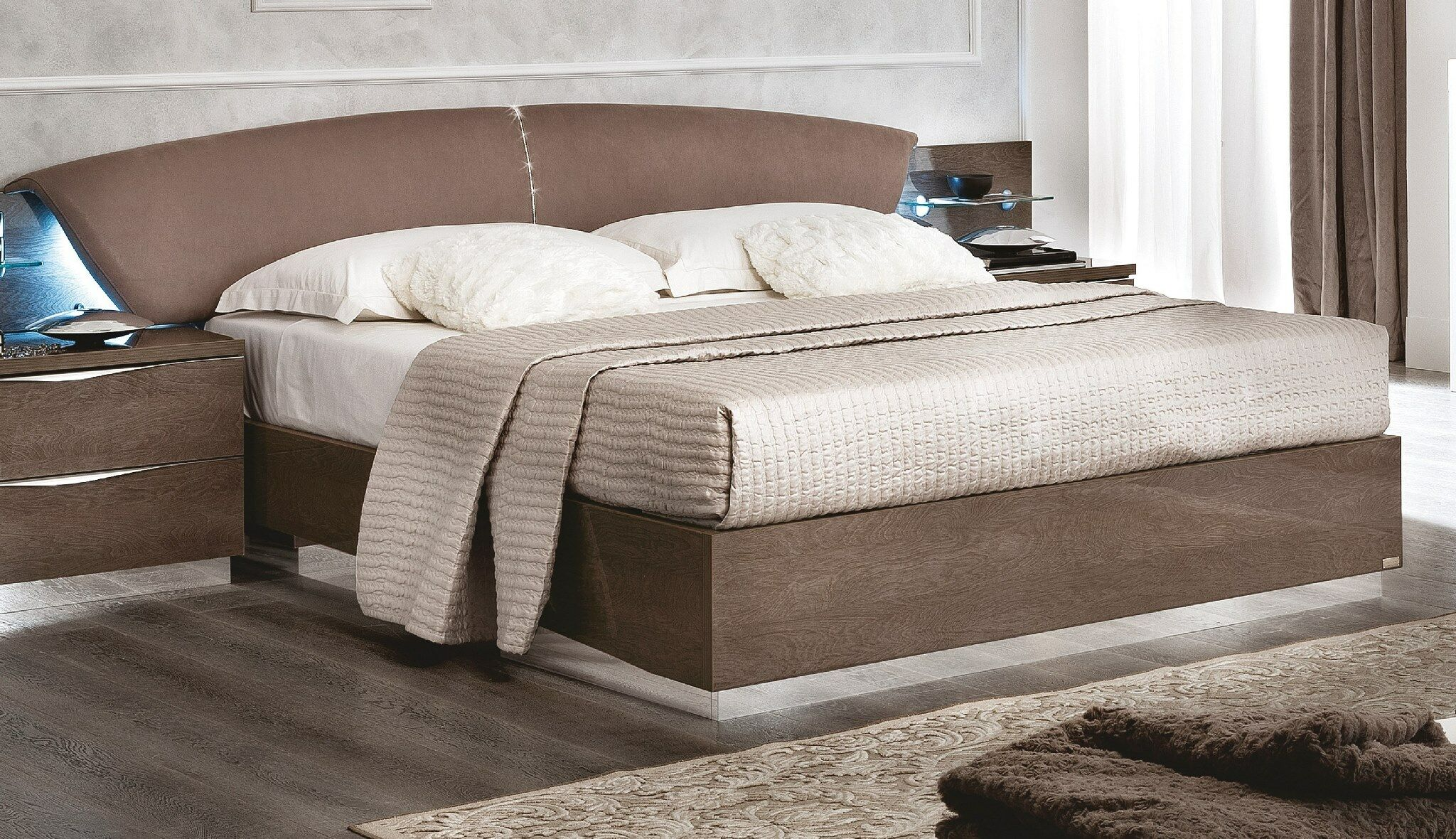 Gary Upholstered Panel Bed Size: Queen