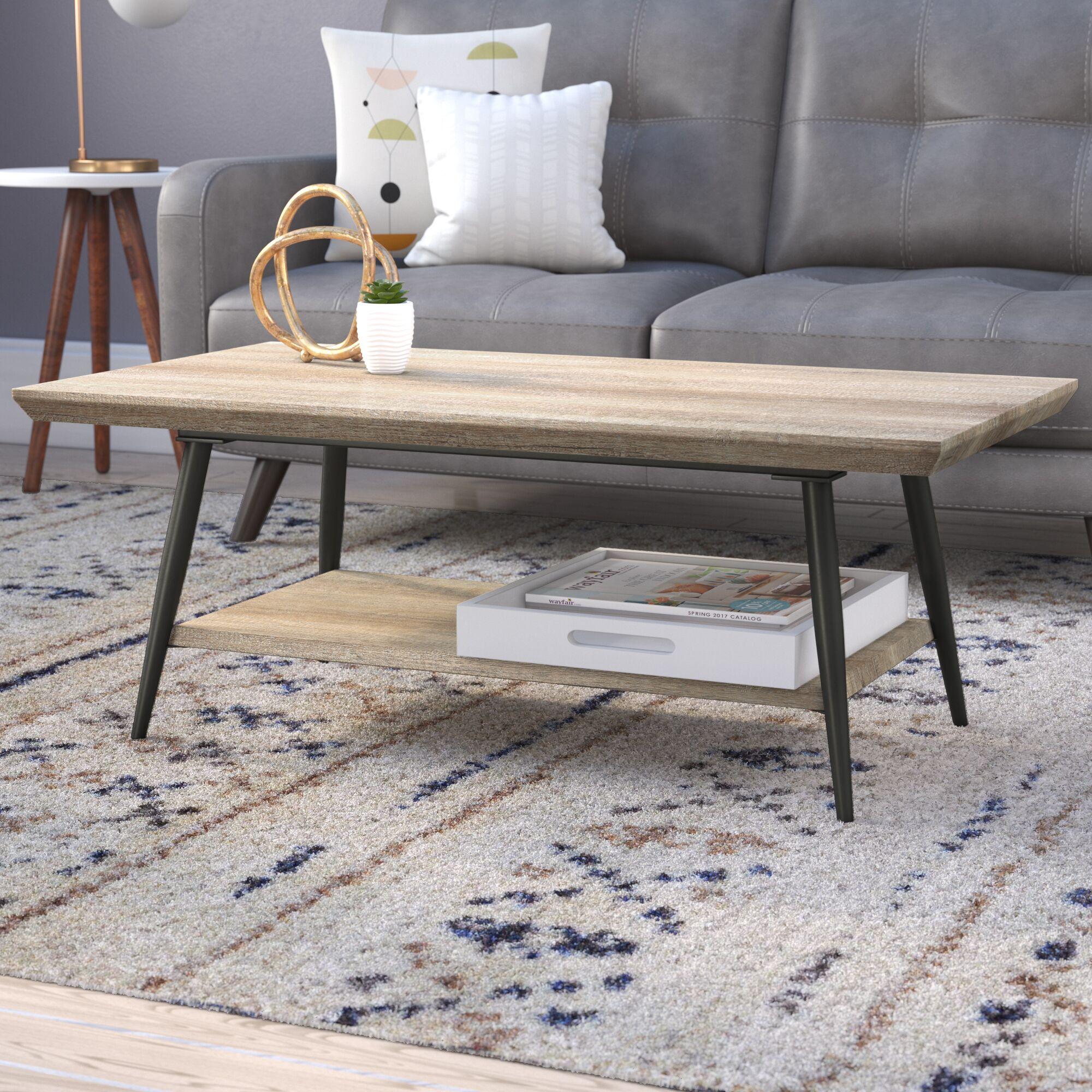 Elizabeth Coffee Table Color: Canyon Gray