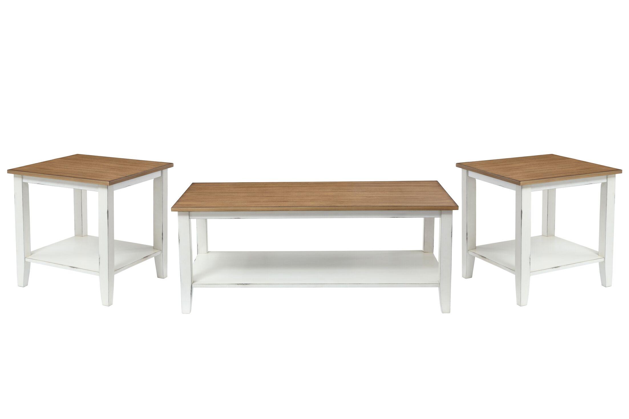 Funkhouser 3 Piece Coffee Table Set