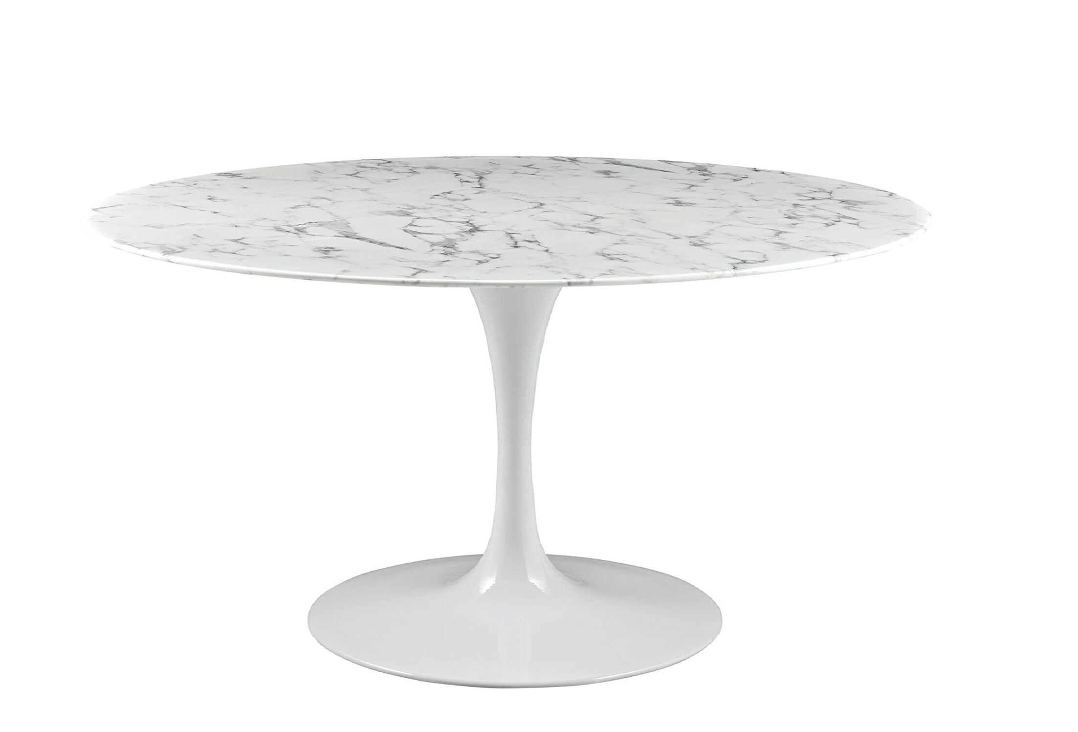 Berkhamstead Marble Dining Table Size: 30