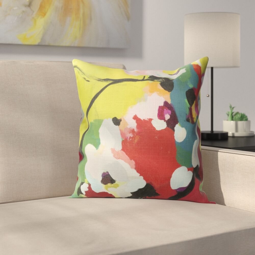 Wyant Throw Pillow Size: 16
