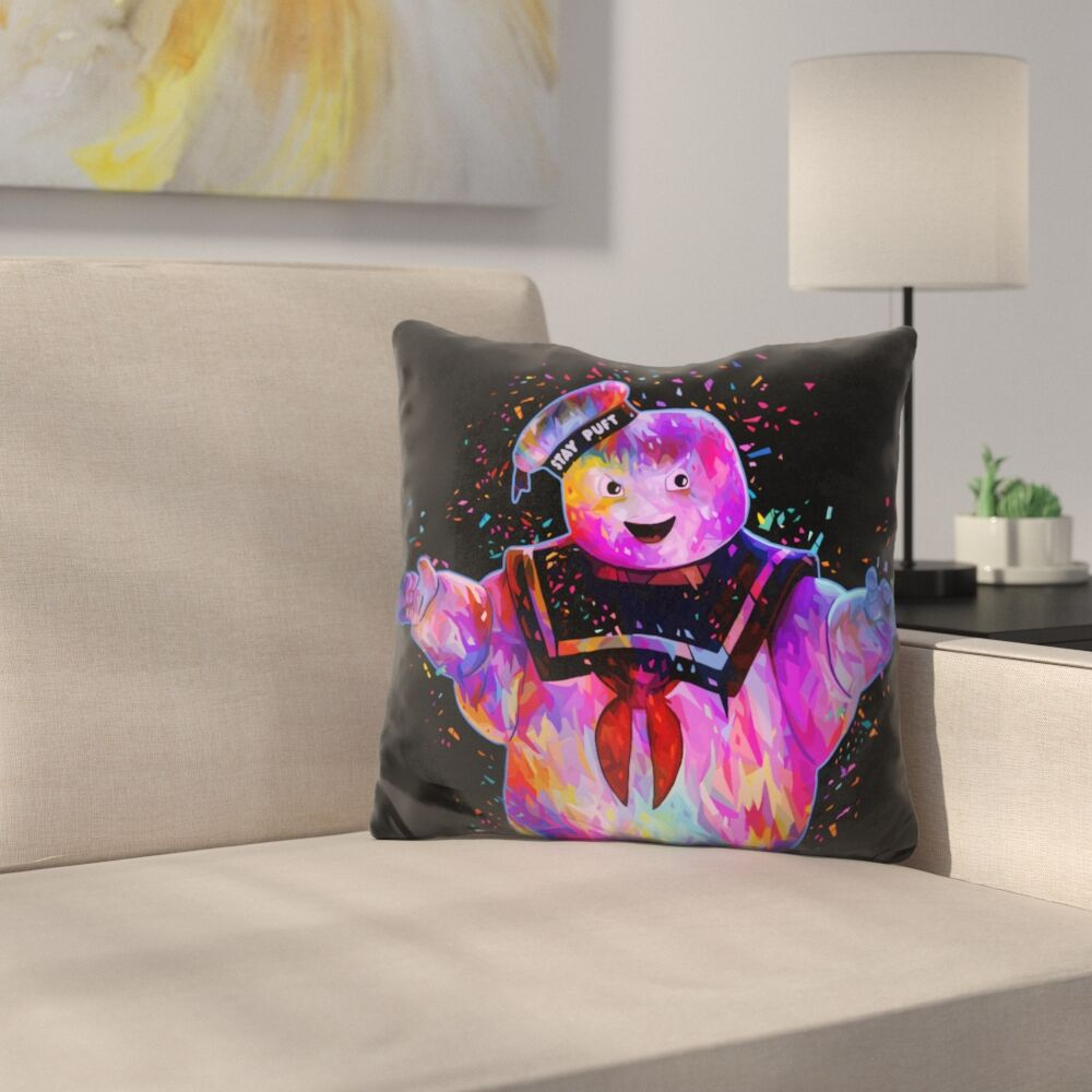 Stay Puft Throw Pillow