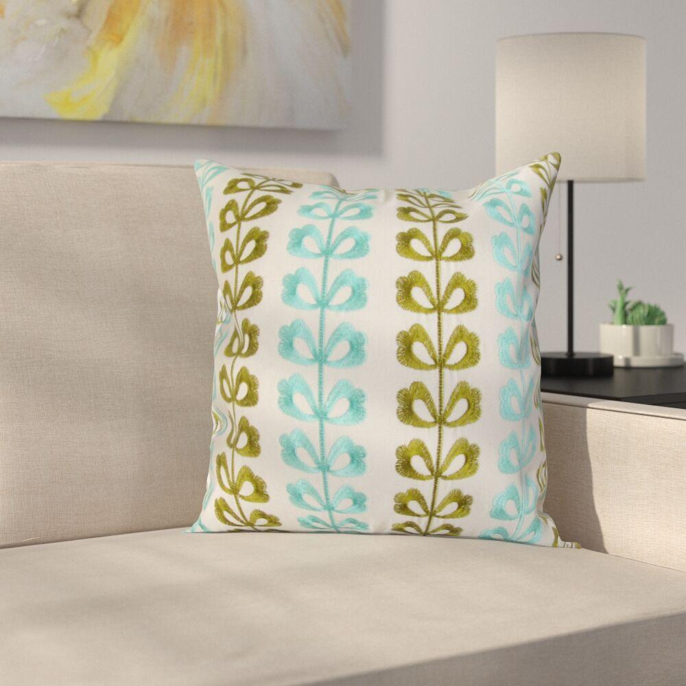 Polanco Square Decorative 100% Cotton Pillow Cover