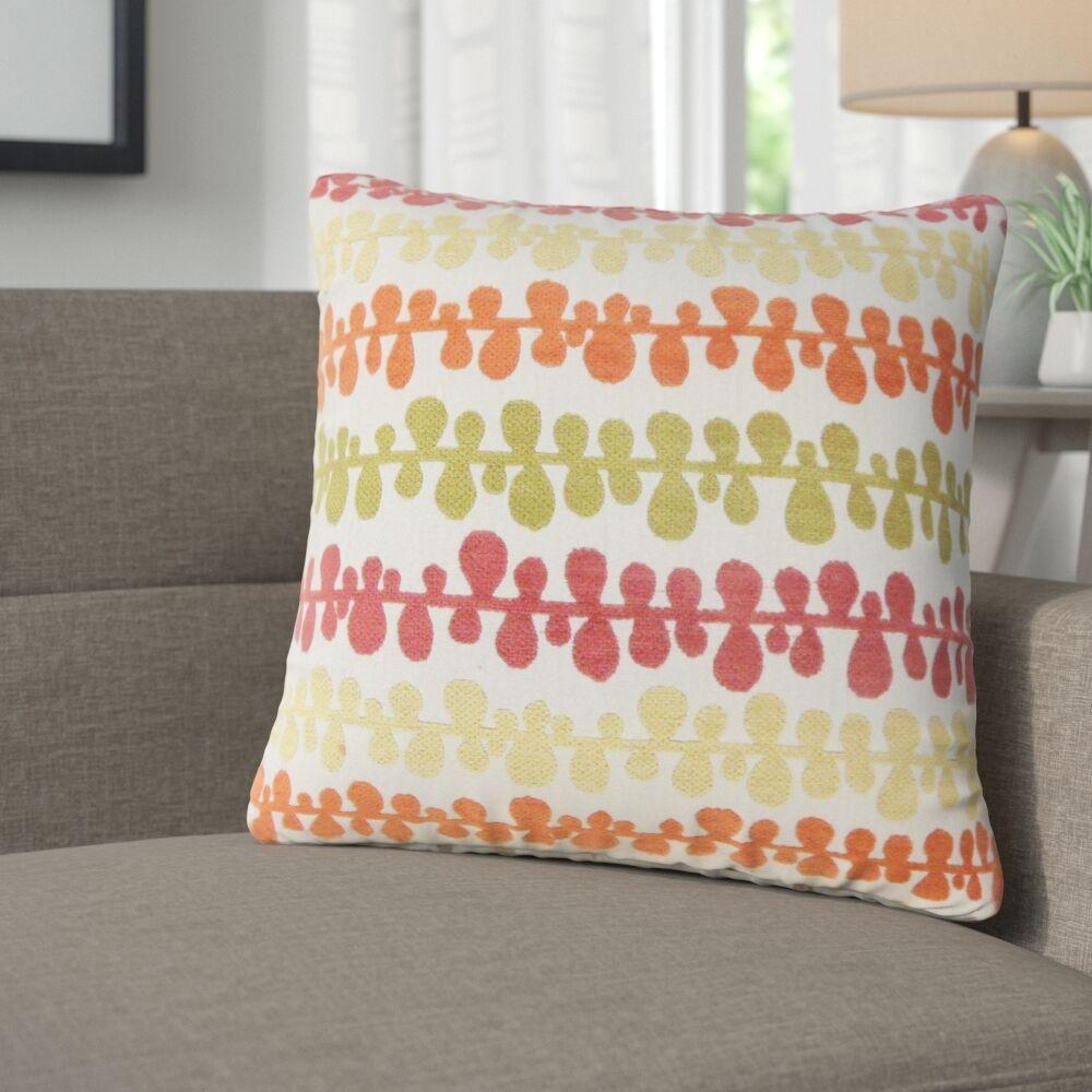 Nola Geometric Throw Pillow