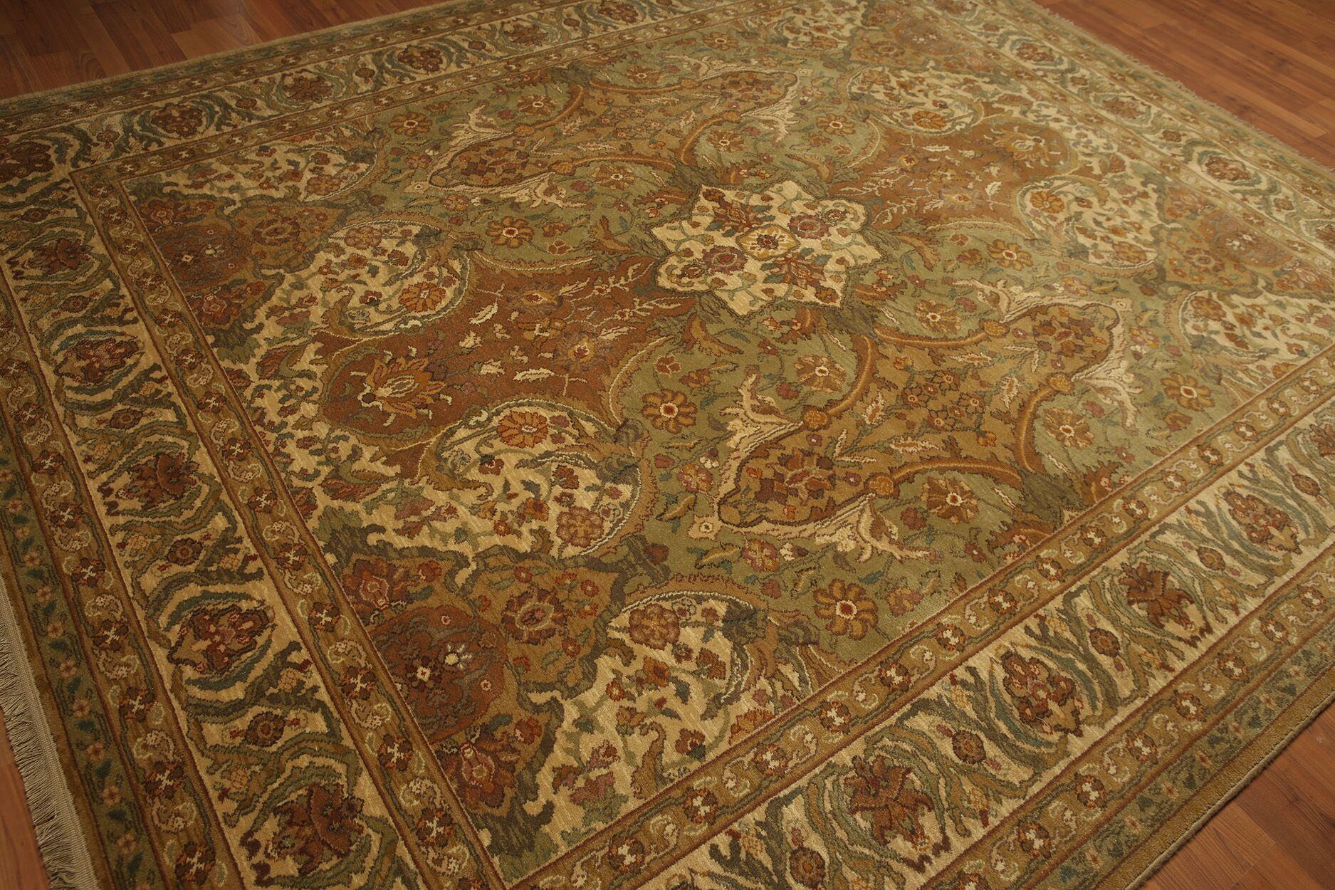 Randle Wool Beige/Brown Area Rug