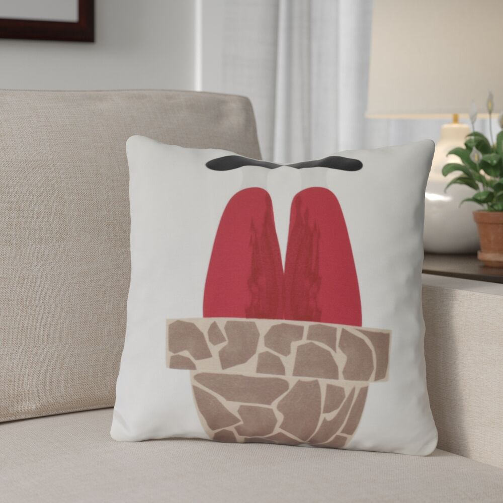 Away He Goes Outdoor Throw Pillow Size: 20