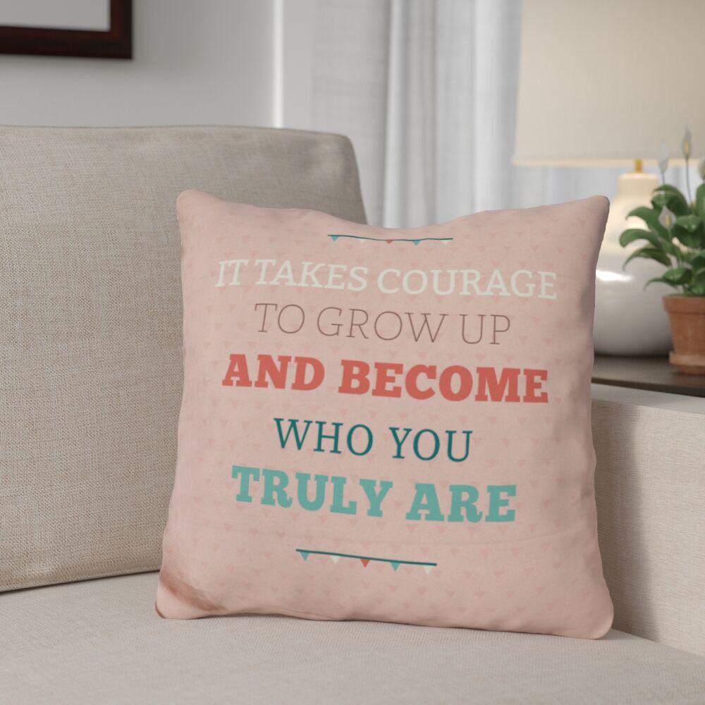 Gimbel True Self Throw Pillow
