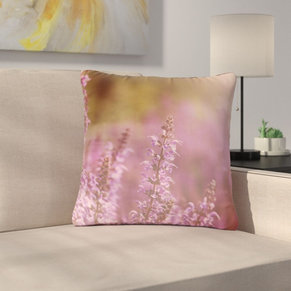 Angie Turner Growing Wild Nature Outdoor Throw Pillow Size: 16