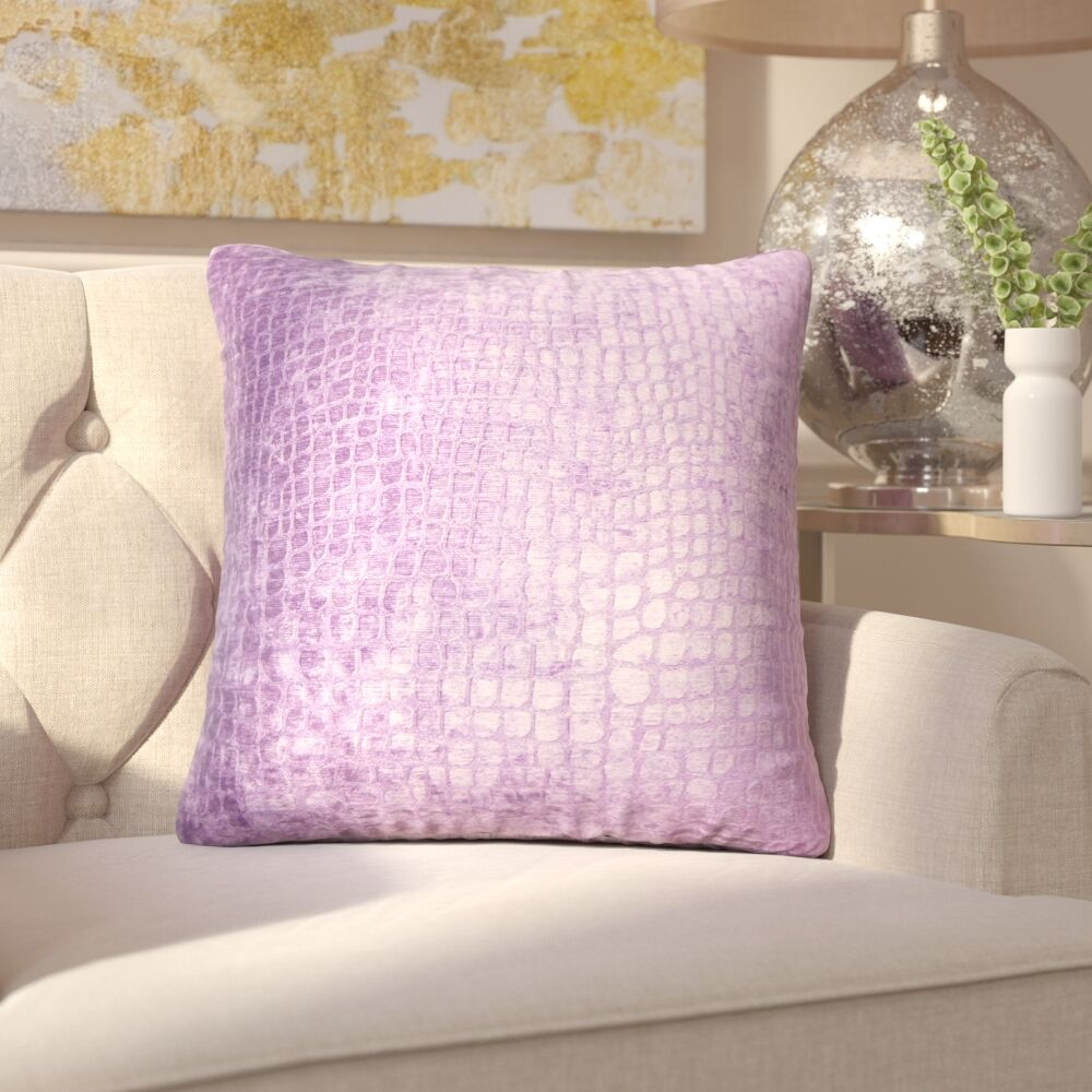 Lelon Solid Down Filled Throw Pillow Size: 22