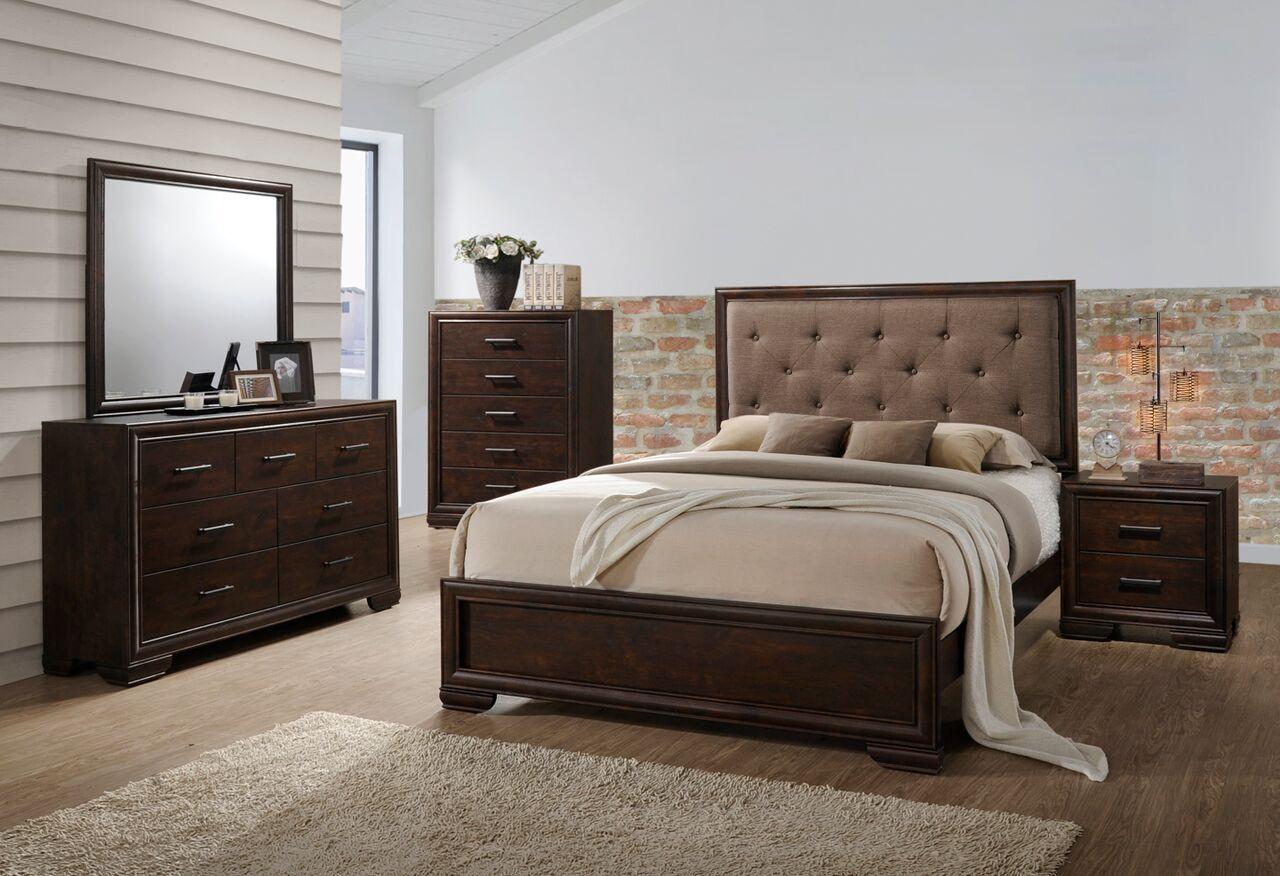 Westphal Panel 4 Piece Bedroom Set Bed Size: Queen