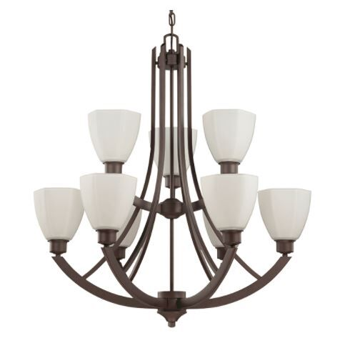 Baldry 9-Light Shaded Chandelier