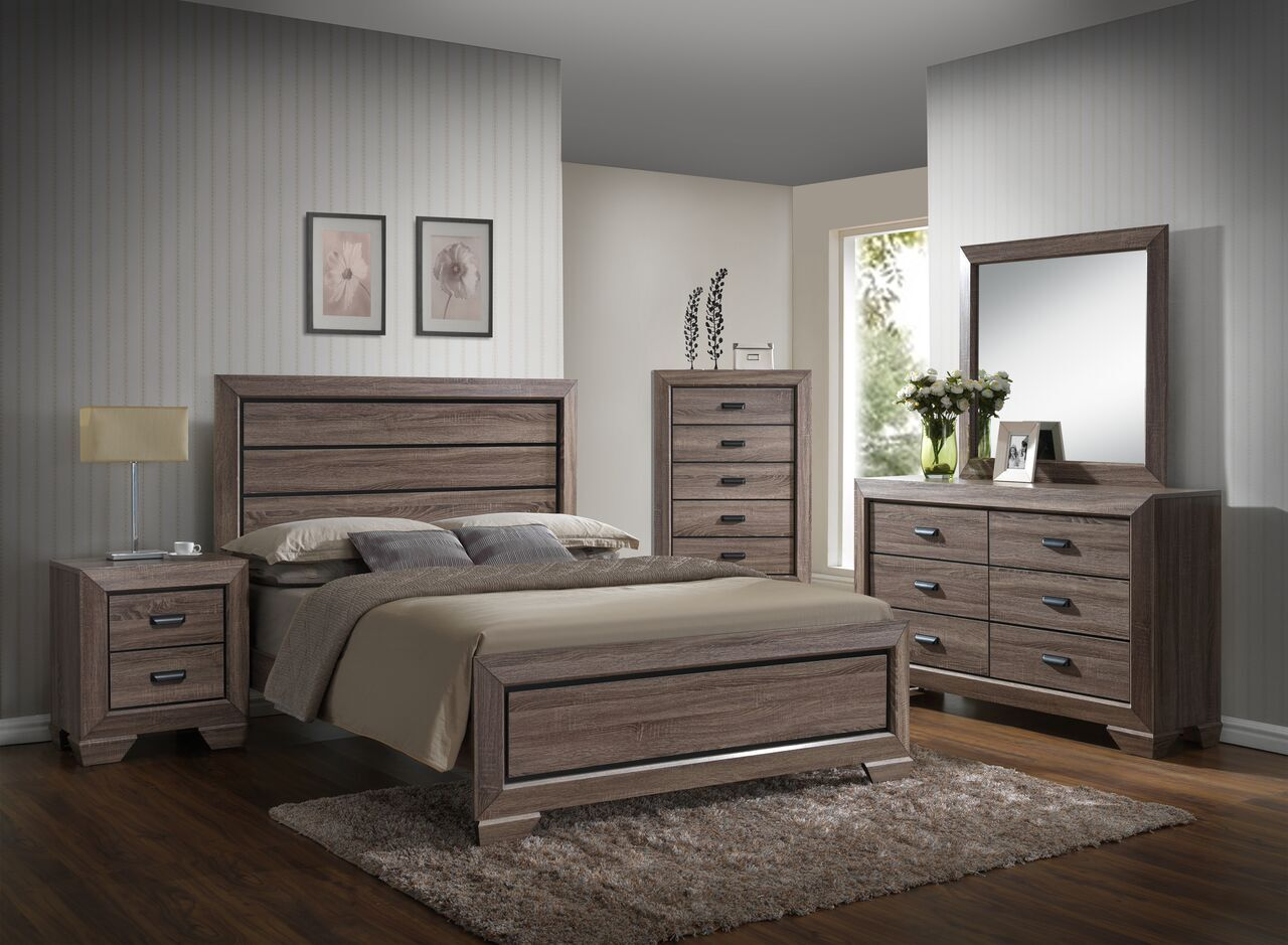 Westman Panel 4 Piece Bedroom Set Bed Size: King