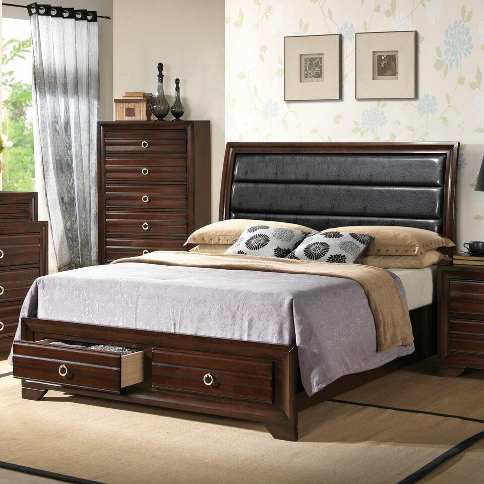 Newhall Queen Platform 5 Piece Bedroom Set
