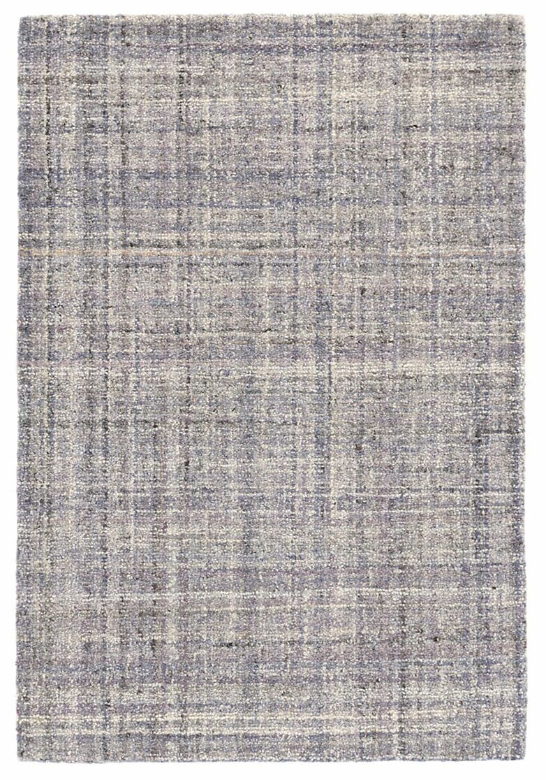 Harris Amethyst Micro Hand-Hooked Wool Purple Area Rug Rug Size: Rectangle 5' x 8'