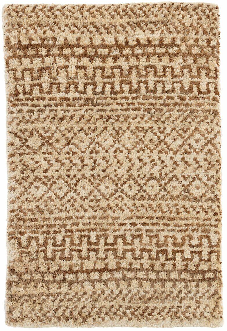 Kel Hand-Woven Brown Area Rug Rug Size: Rectangle 8' x 10'