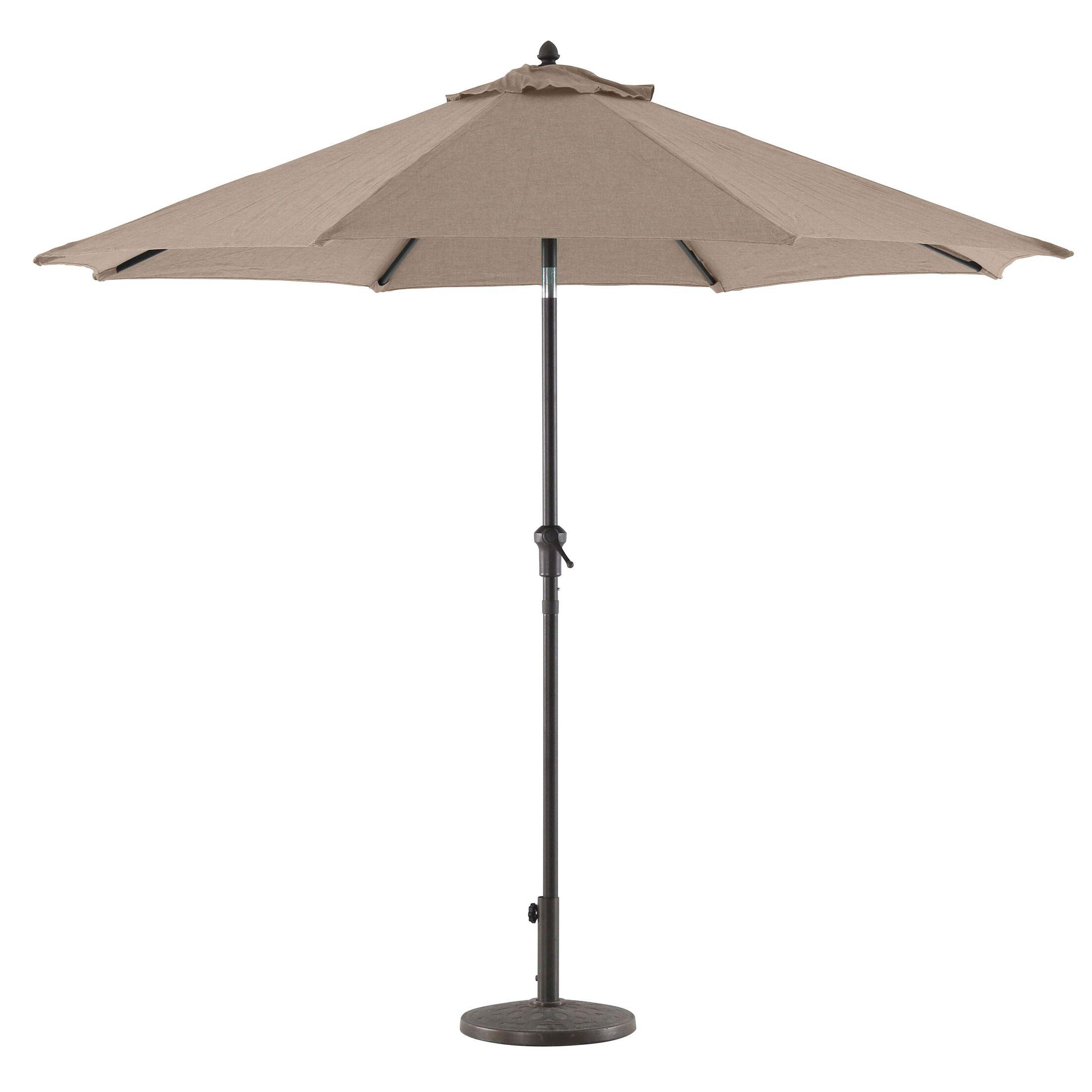 Higgins 9' Market Umbrella Fabric Color: Tan