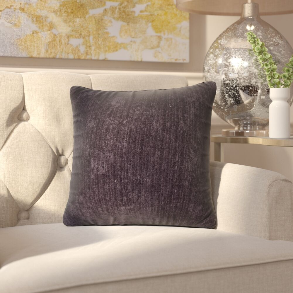 Marcelle Throw Pillow Size: 26