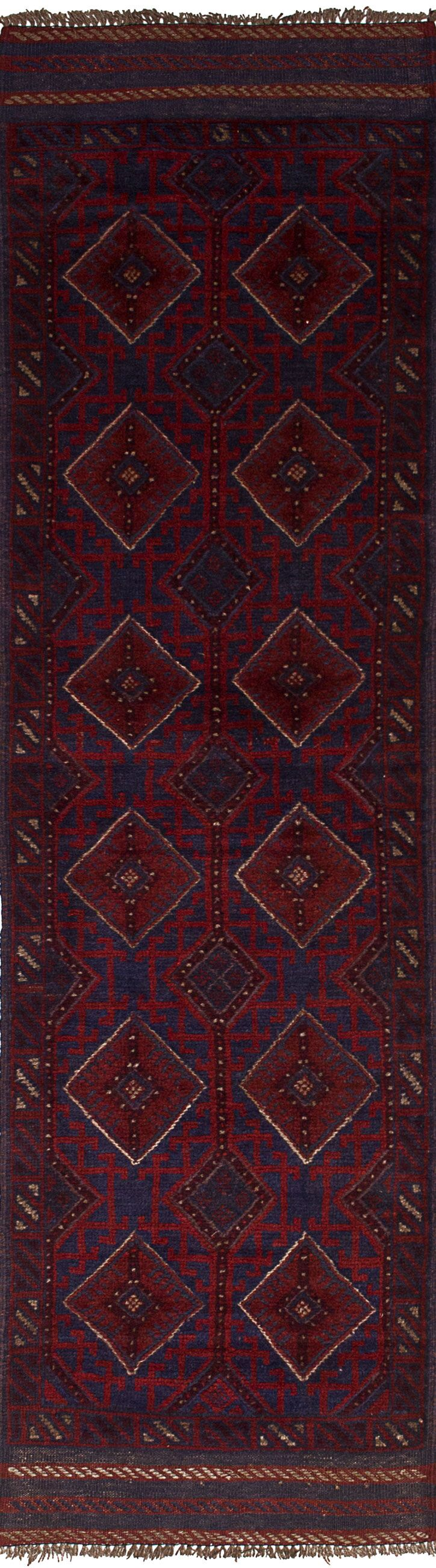 One-of-a-Kind Dizon Hand-Knotted Wool Red Area Rug