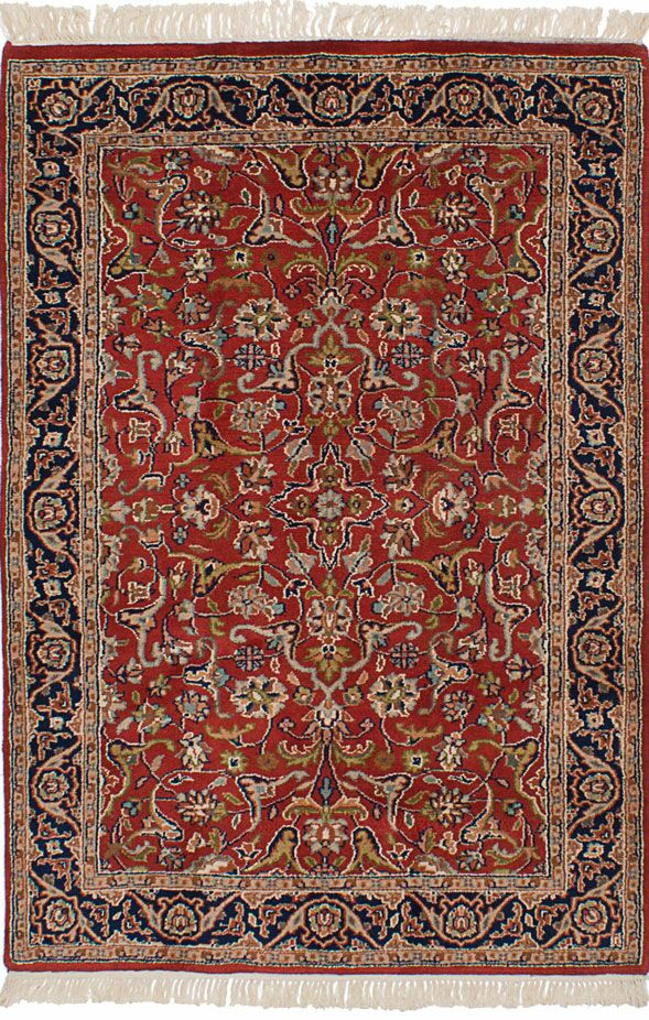 One-of-a-Kind Doane Hand-Knotted Wool Dark Copper Area Rug