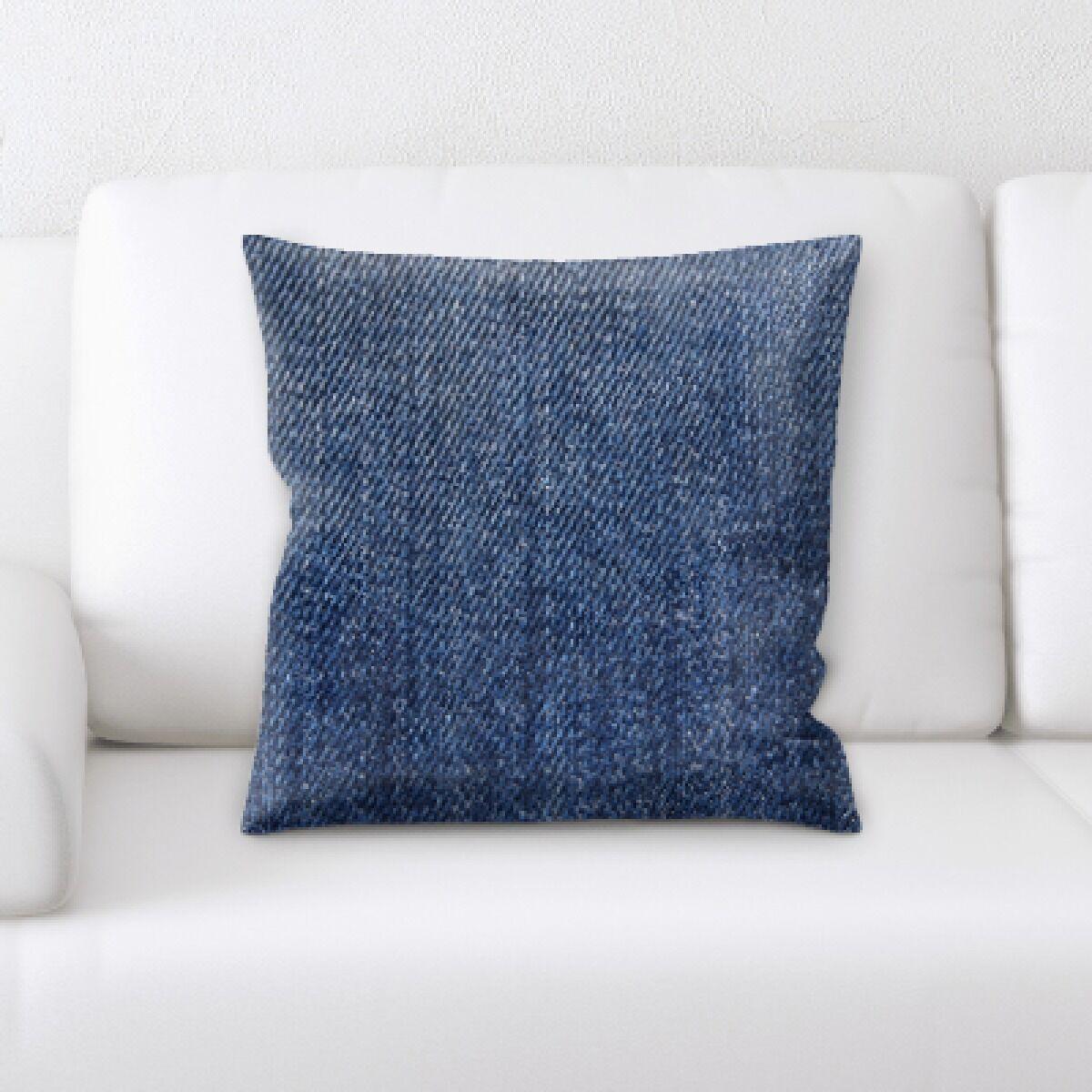 Guerrette Jean Texture Throw Pillow