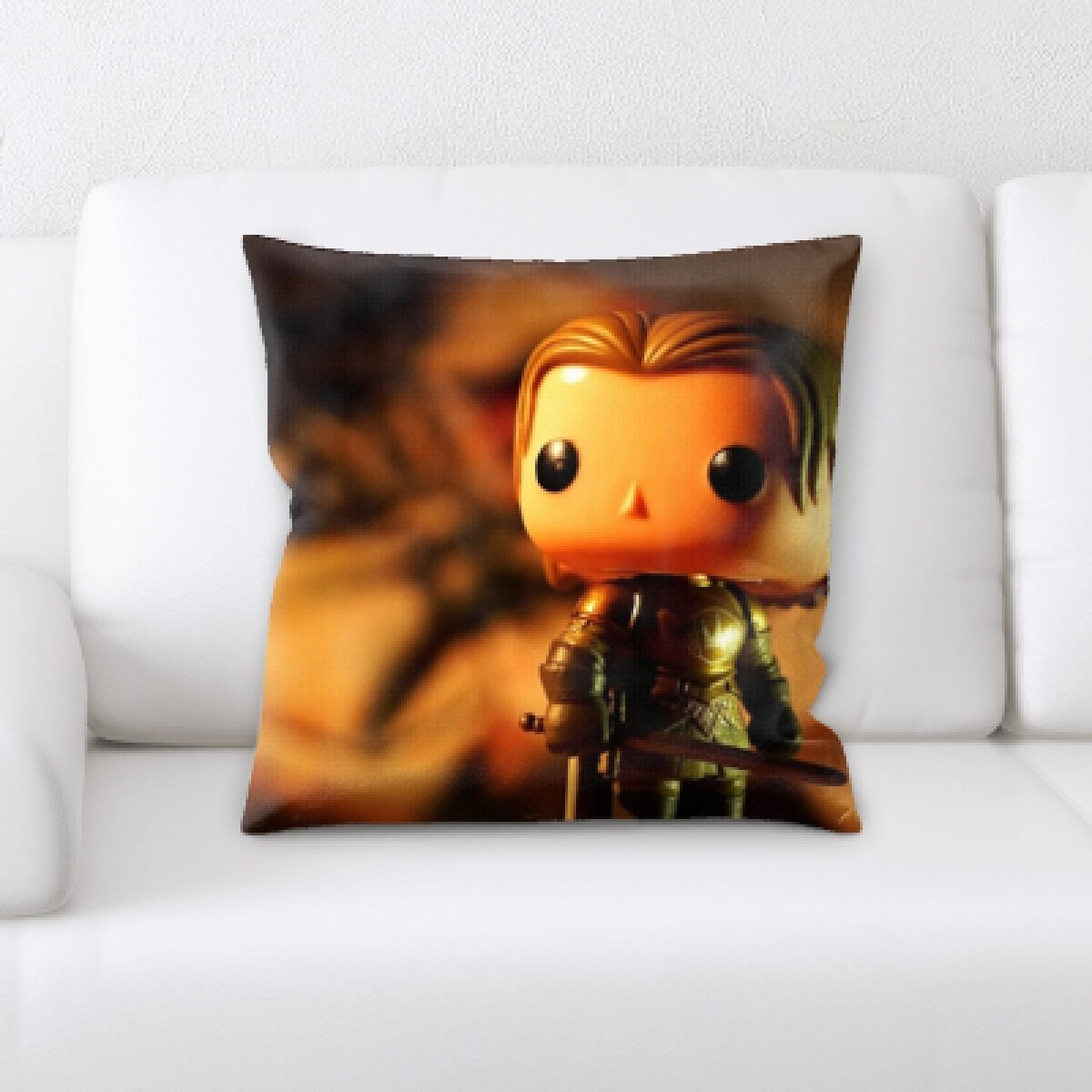 Banach Art and Craft Toy Soldier Throw Pillow