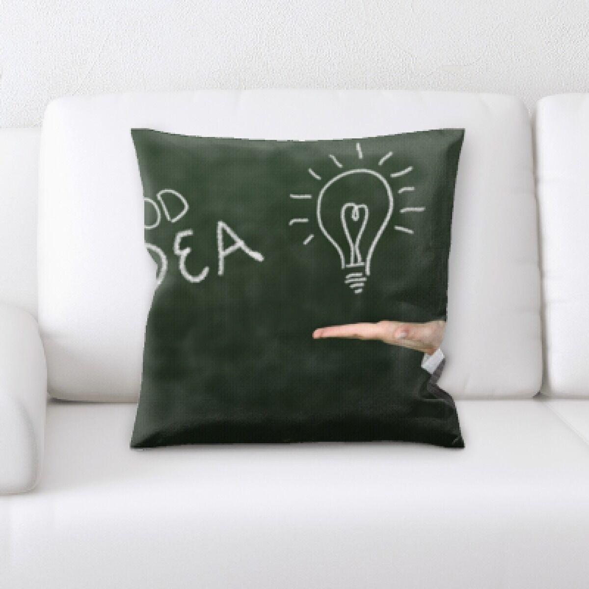 Kutz Formula Good Idea Throw Pillow