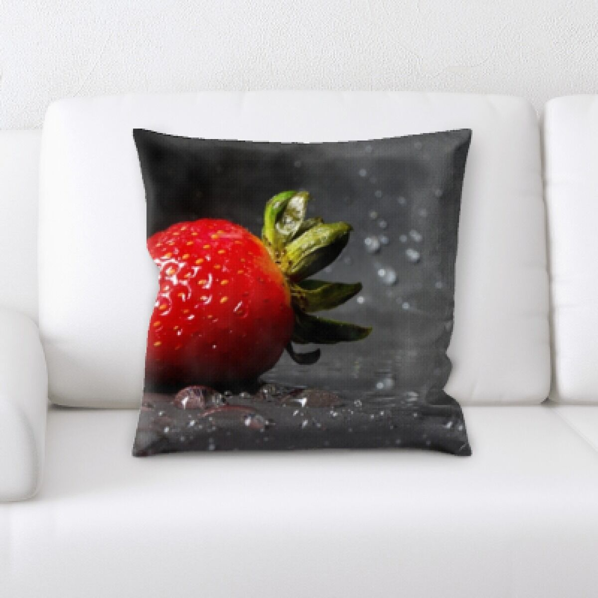 Bevers Fruits Throw Pillow