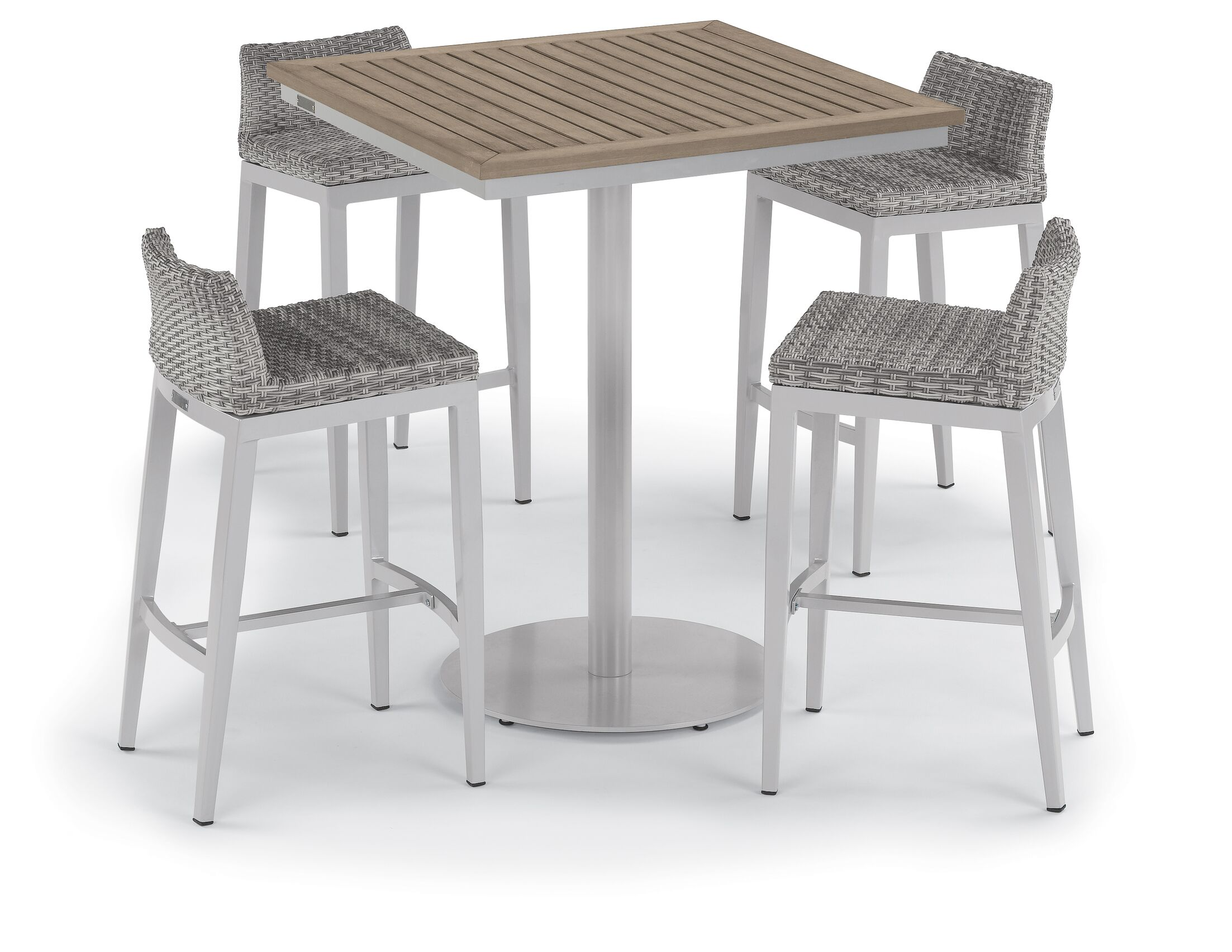 Saleh 5 Piece Bar Height Dining Set