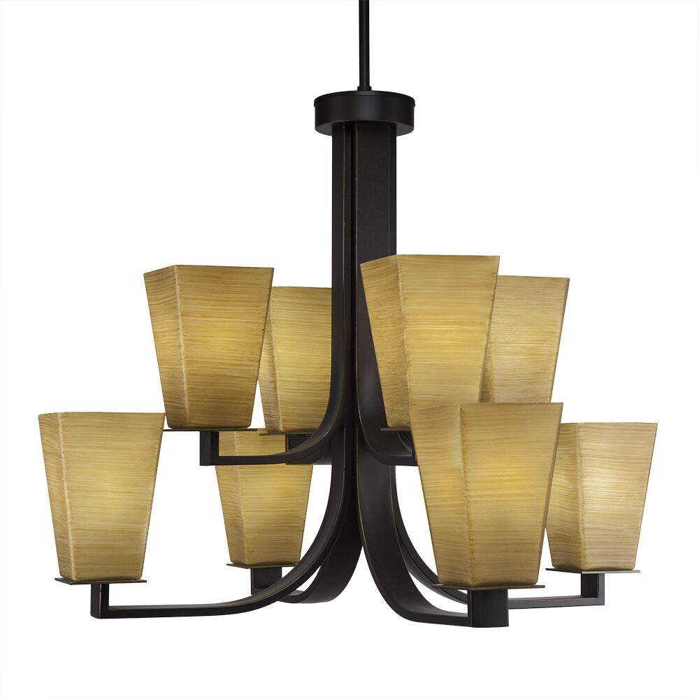 Weatherly 8-Light Shaded Chandelier