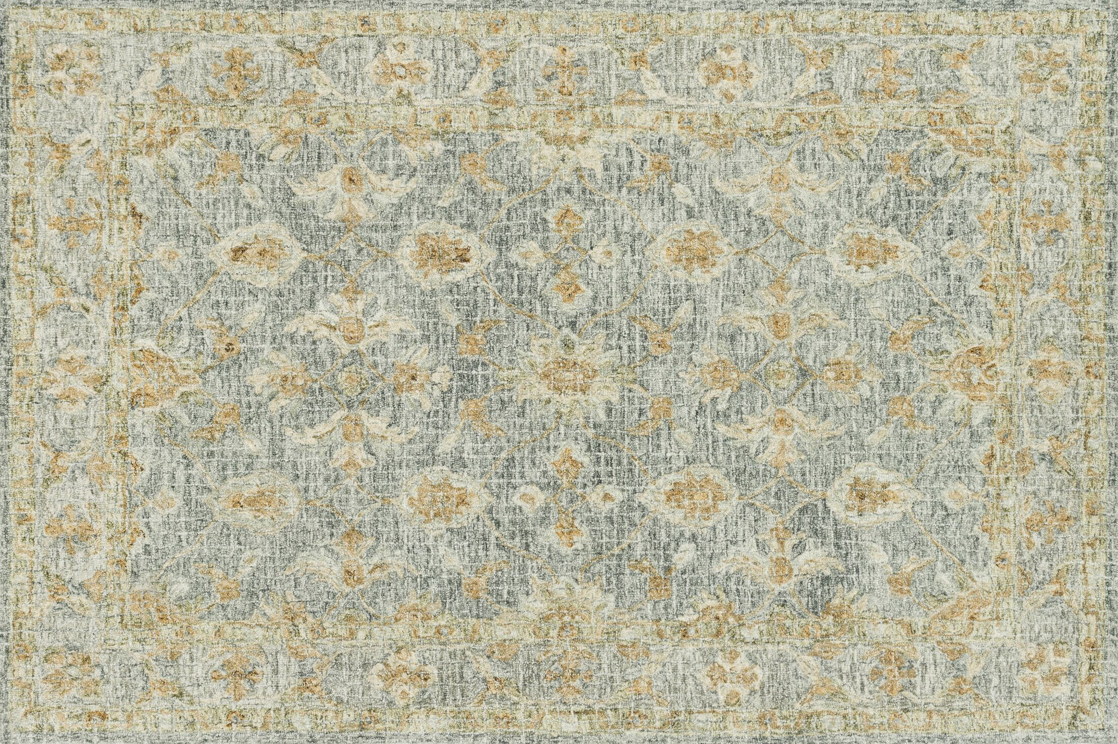 Fitzwater Hand-Hooked Wool Spa Area Rug Rug Size: Rectangle 3'6
