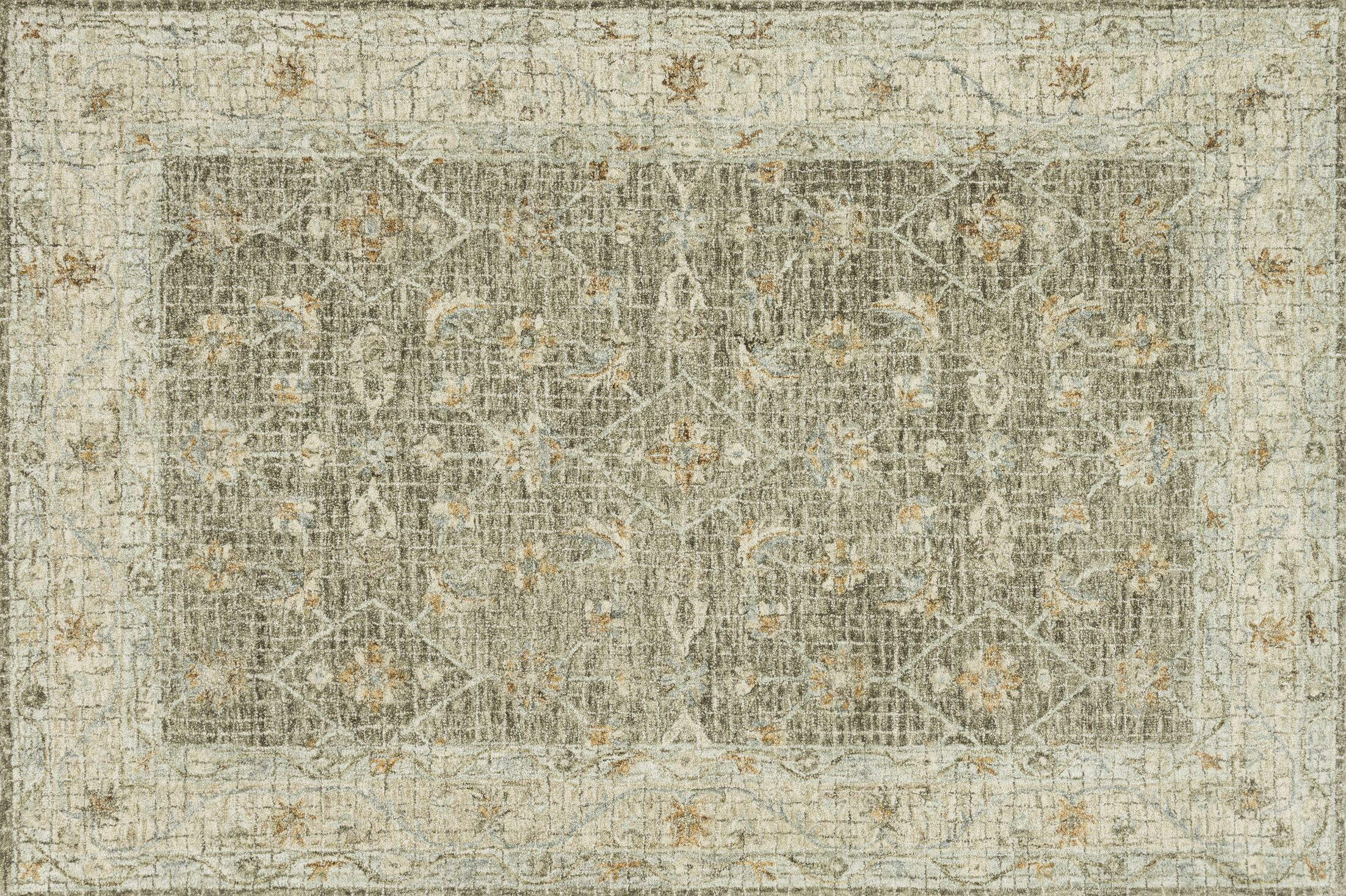 Fitzwater Hand-Hooked Wool Taupe Area Rug Rug Size: Rectangle 12' x 15'