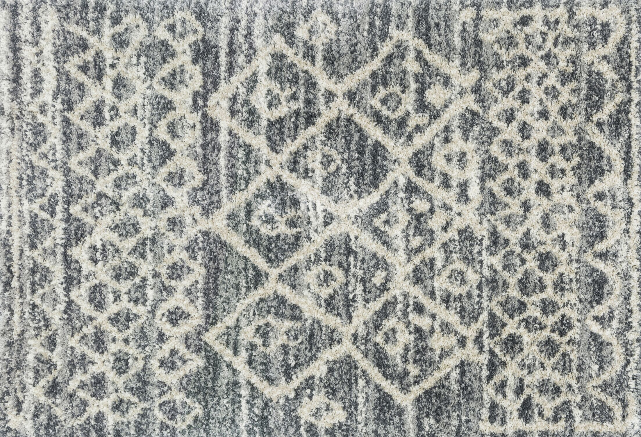 Palmquist Graphite/Beige Area Rug Rug Size: Rectangle 8'10