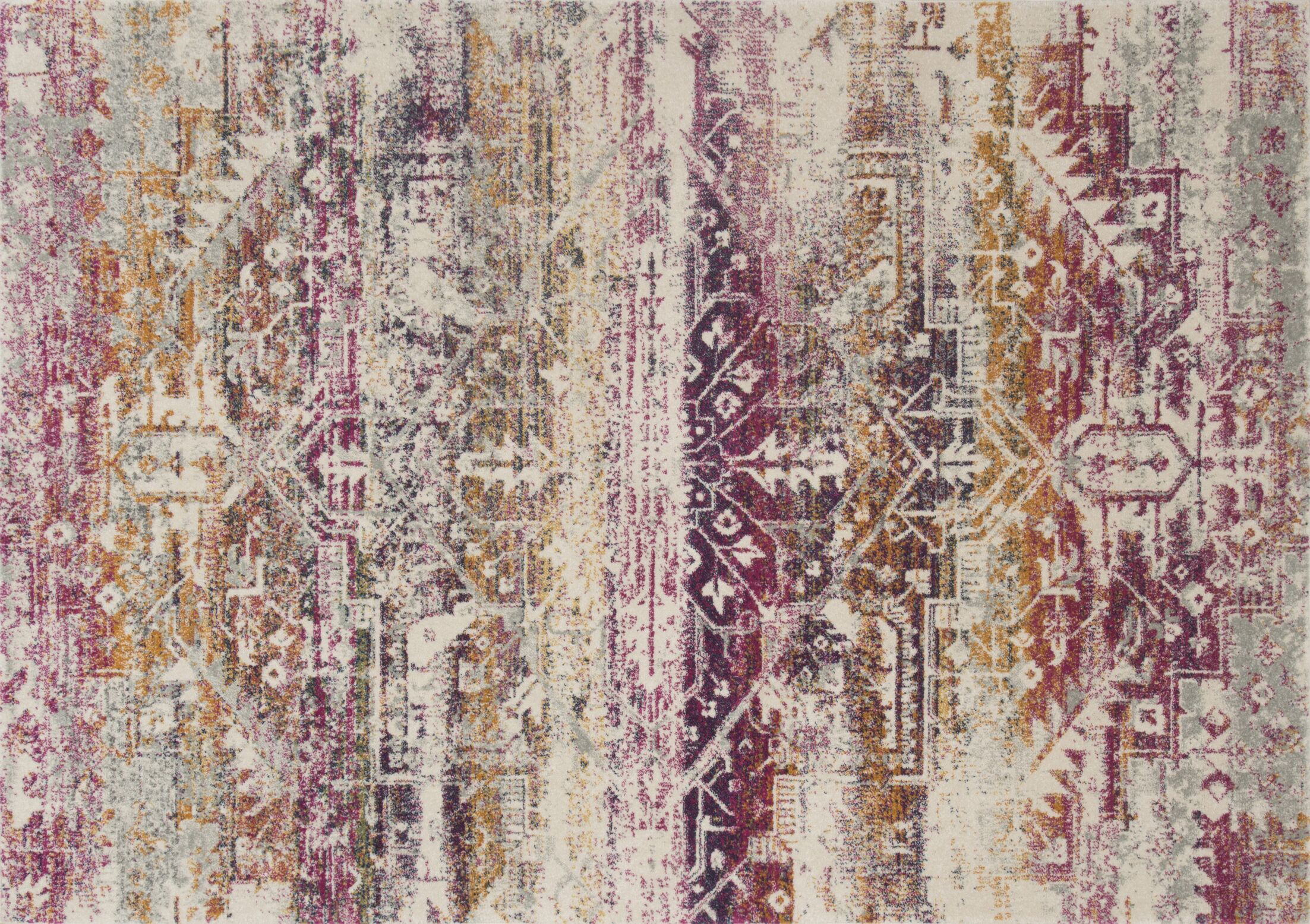 Palmore Sunset Area Rug Rug Size: Rectangle 2'7