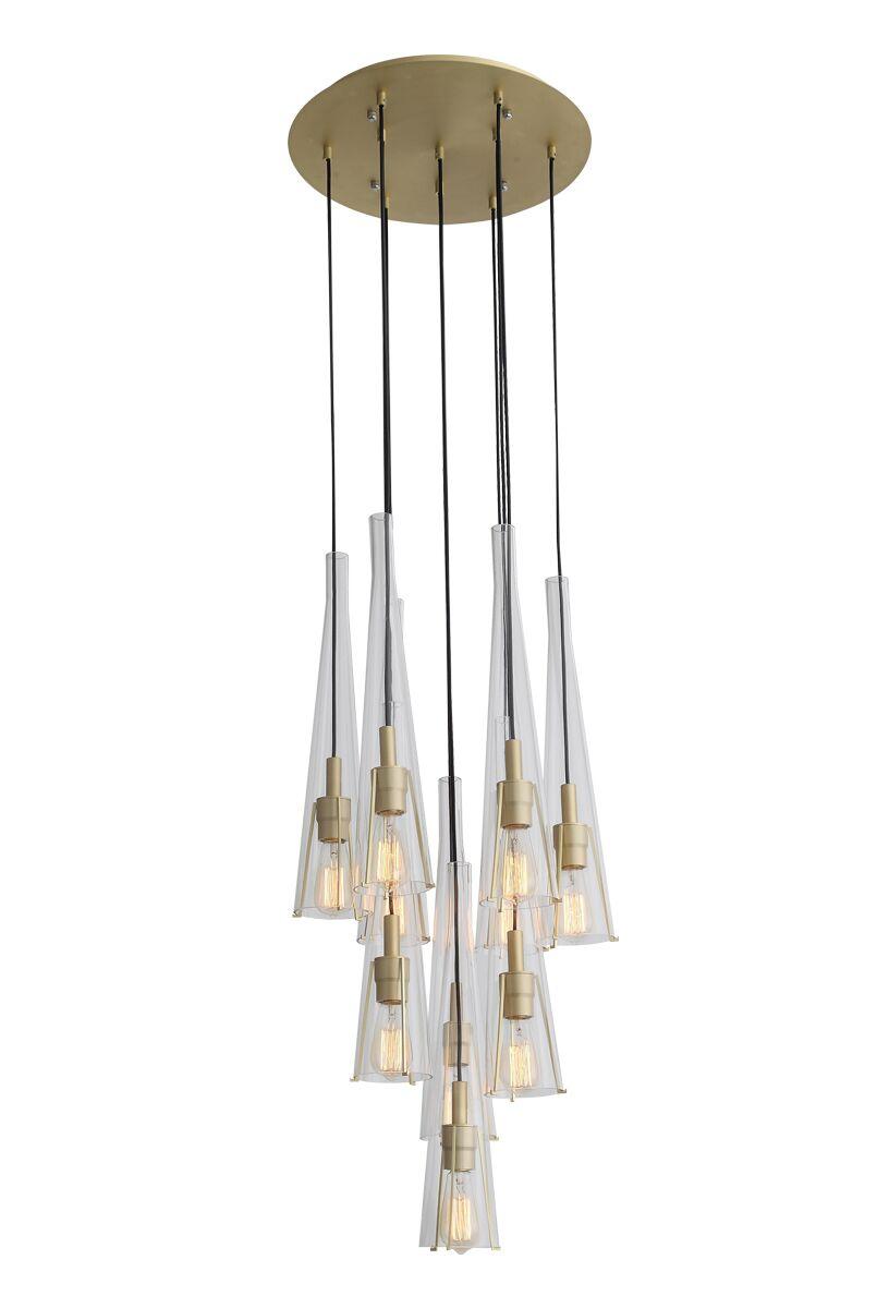 Hedgesville 10-Light Cluster Pendant