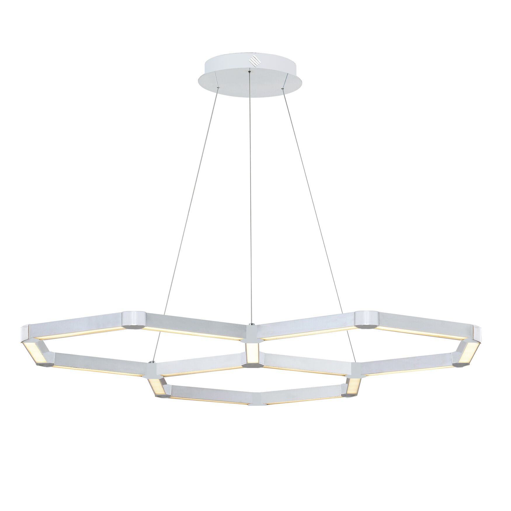 Rosenzweig 3-Light  LED  Pendant