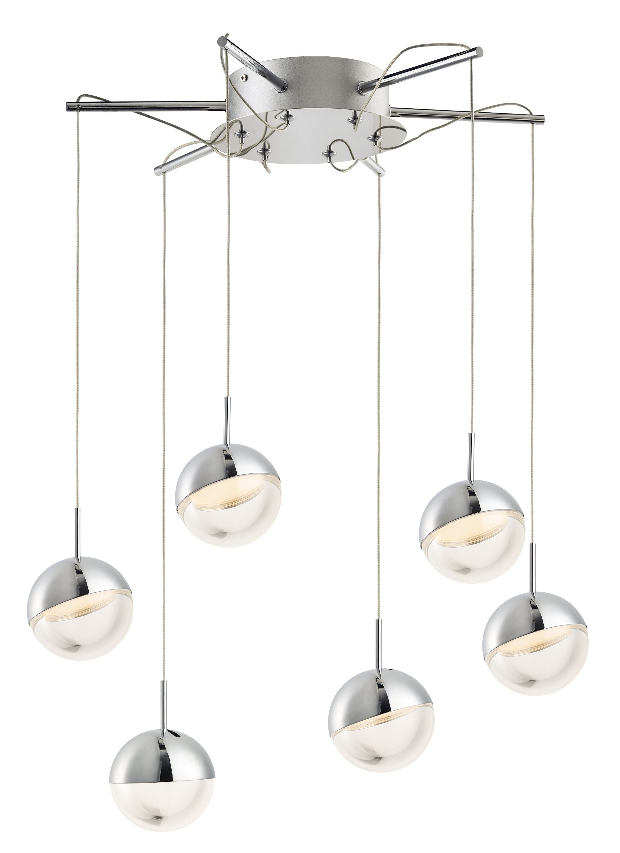Seo 6-Light  LED  Pendant
