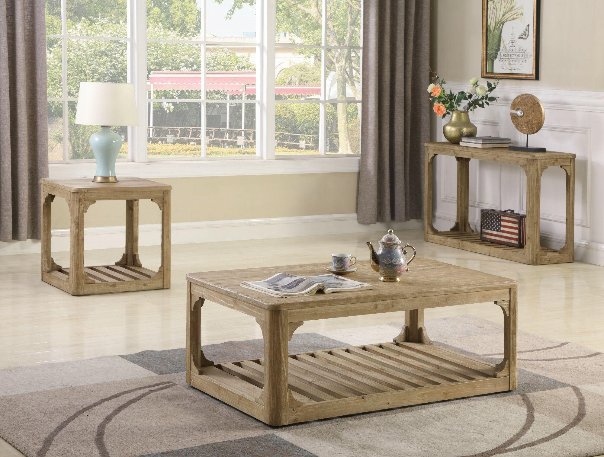 Girardi 2 Piece Coffee Table Set