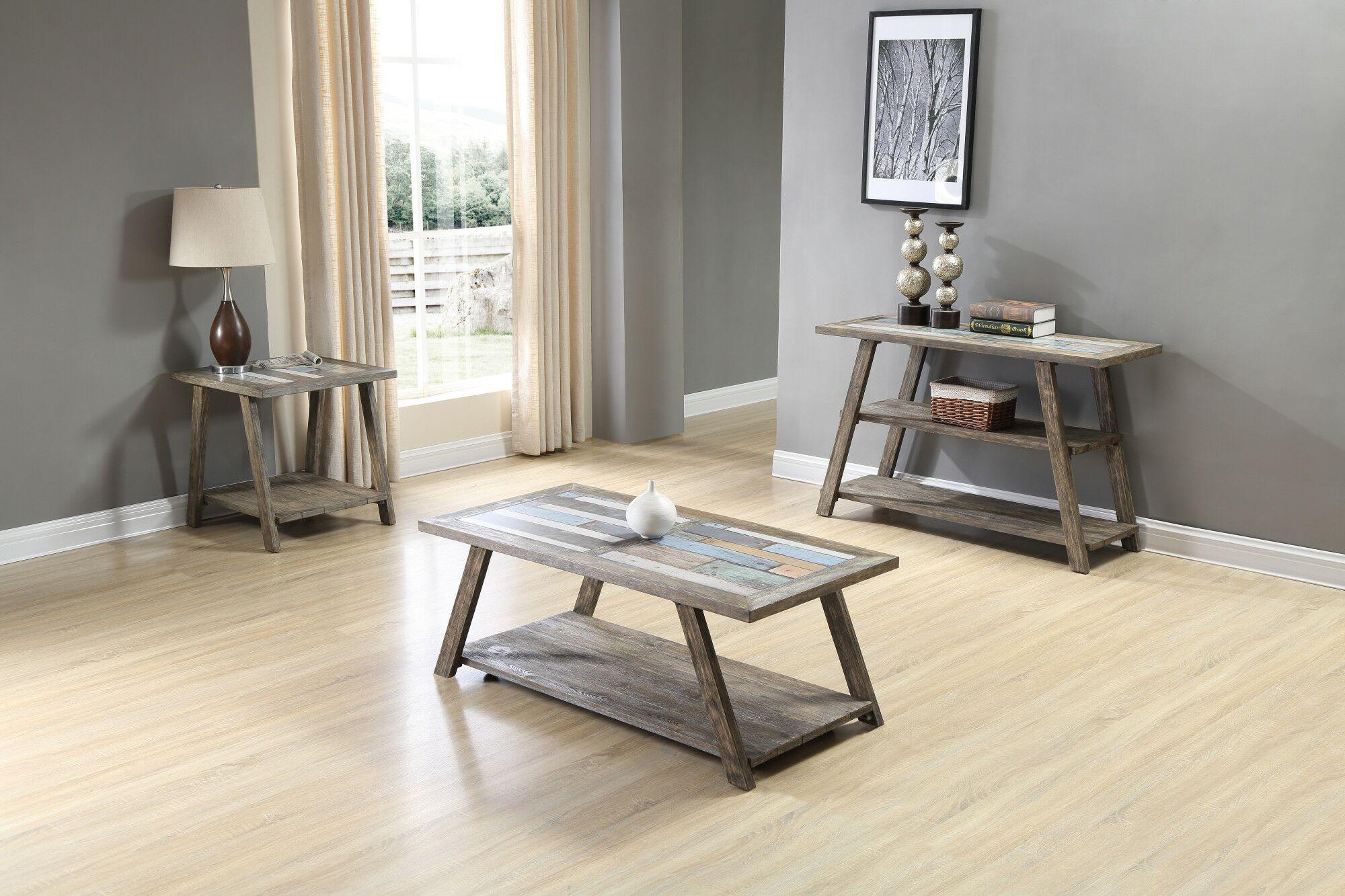Howington 3 Piece Coffee Table Set
