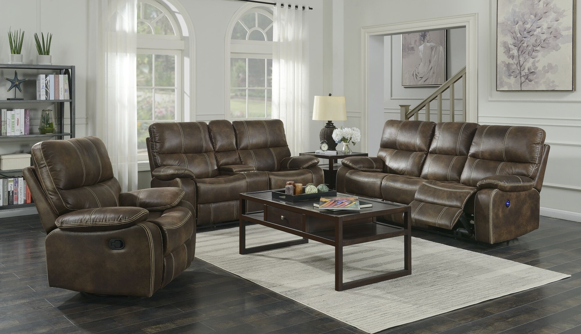 Diorio Reclining Configurable Living Room Set