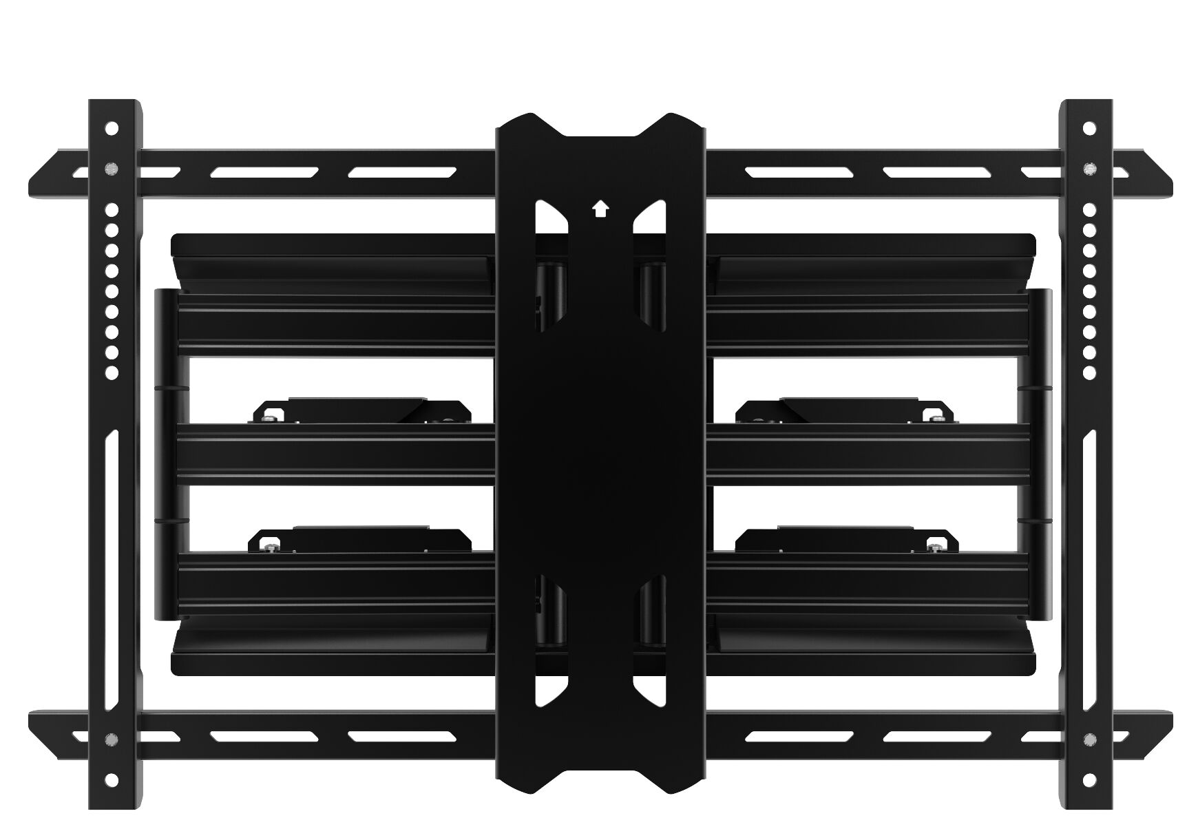 Designed for patios, decks, and balconies, the Outdoor Full Motion Wall Mount Greater than 50