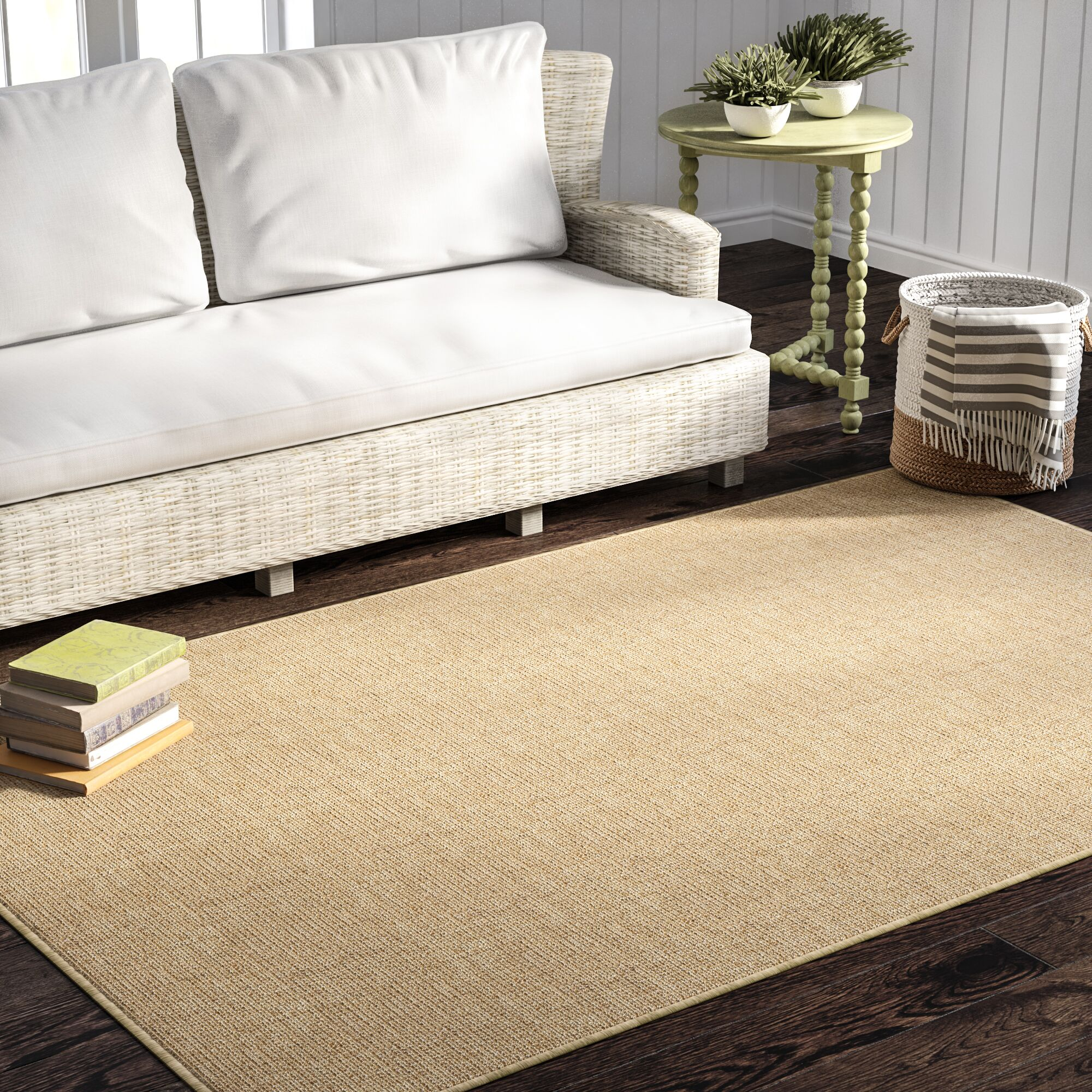 Waverly Machine Woven Heather Indoor Area Rug Rug Size: 9' x 12'
