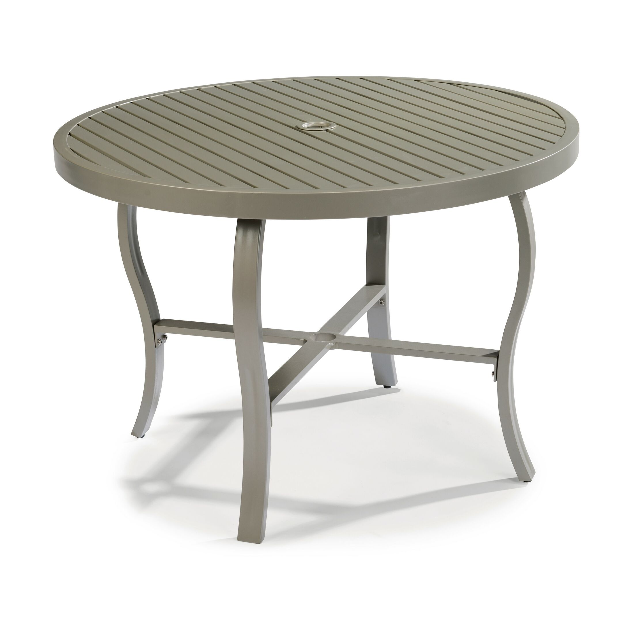 Dinapoli Outdoor Dining Table Table Top Size: 28.75