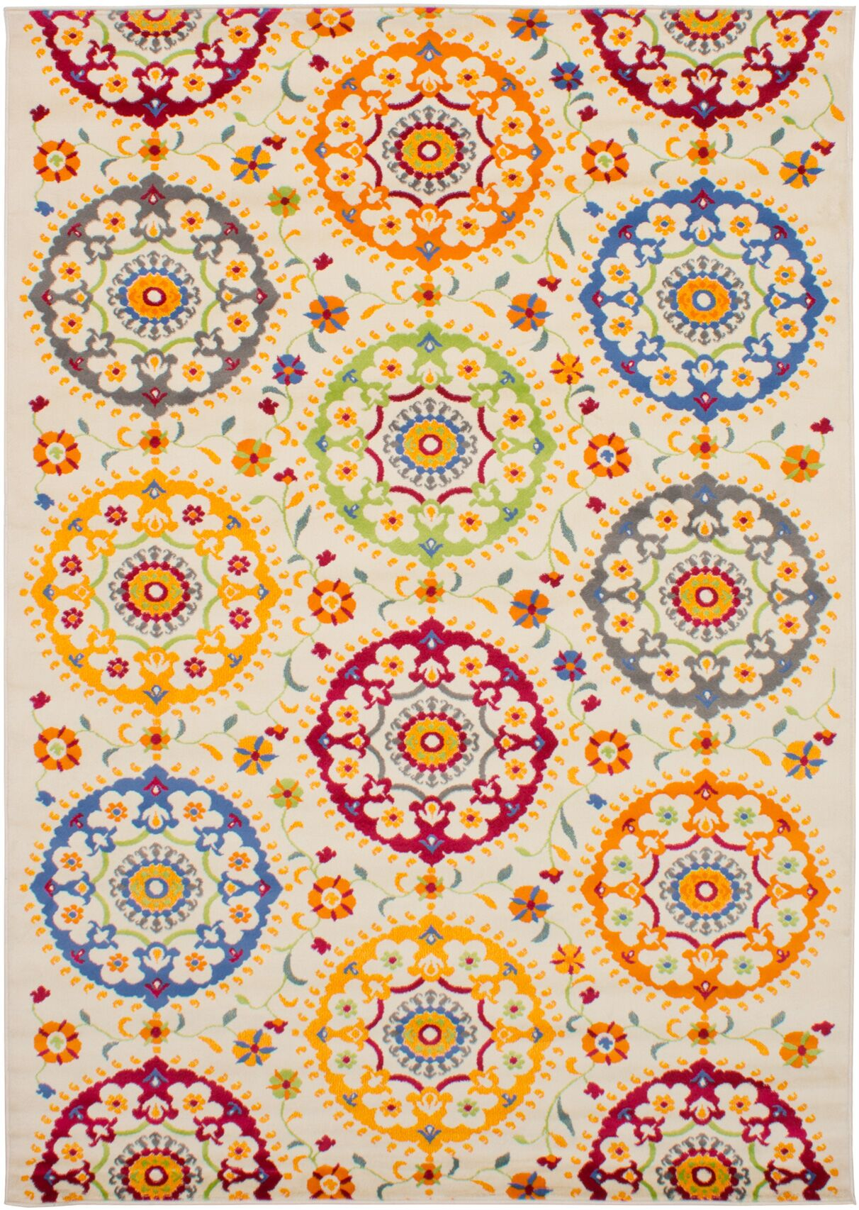 Peralez Cream Area Rug