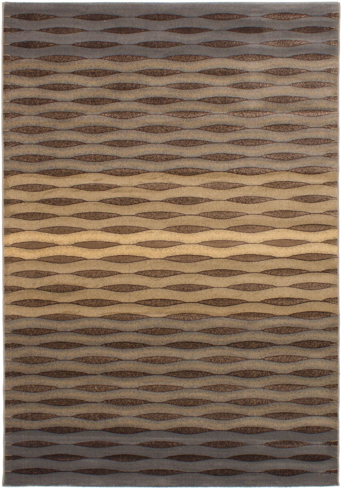 Roundtree Power Loom Tan Area Rug