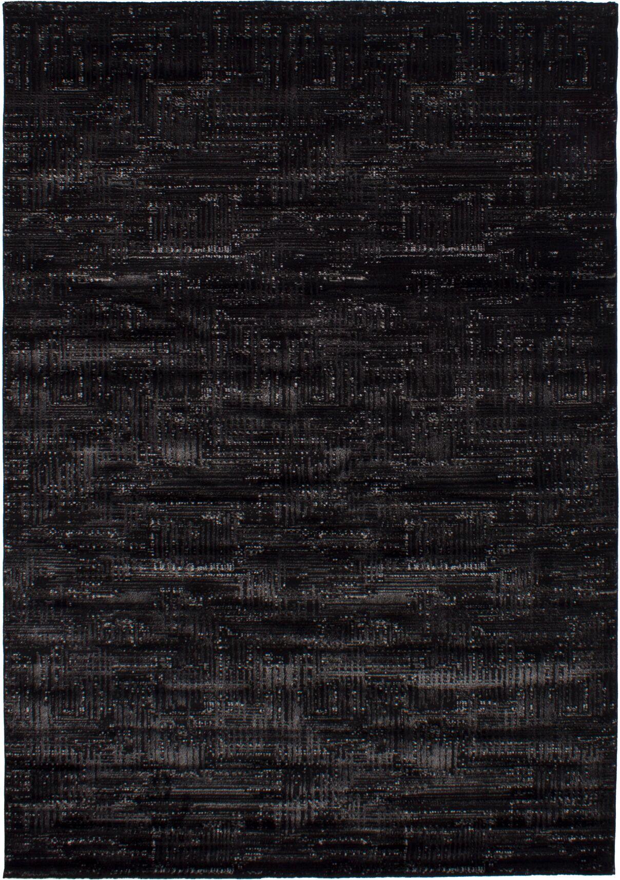 Grogg Black Area Rug