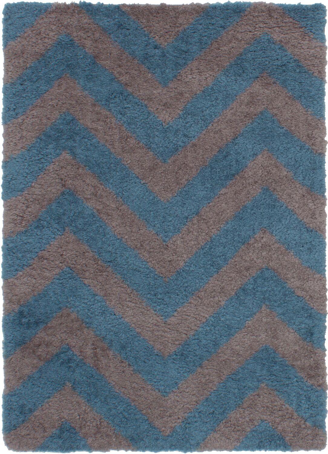 Maclennan Gray/Turquoise Area Rug