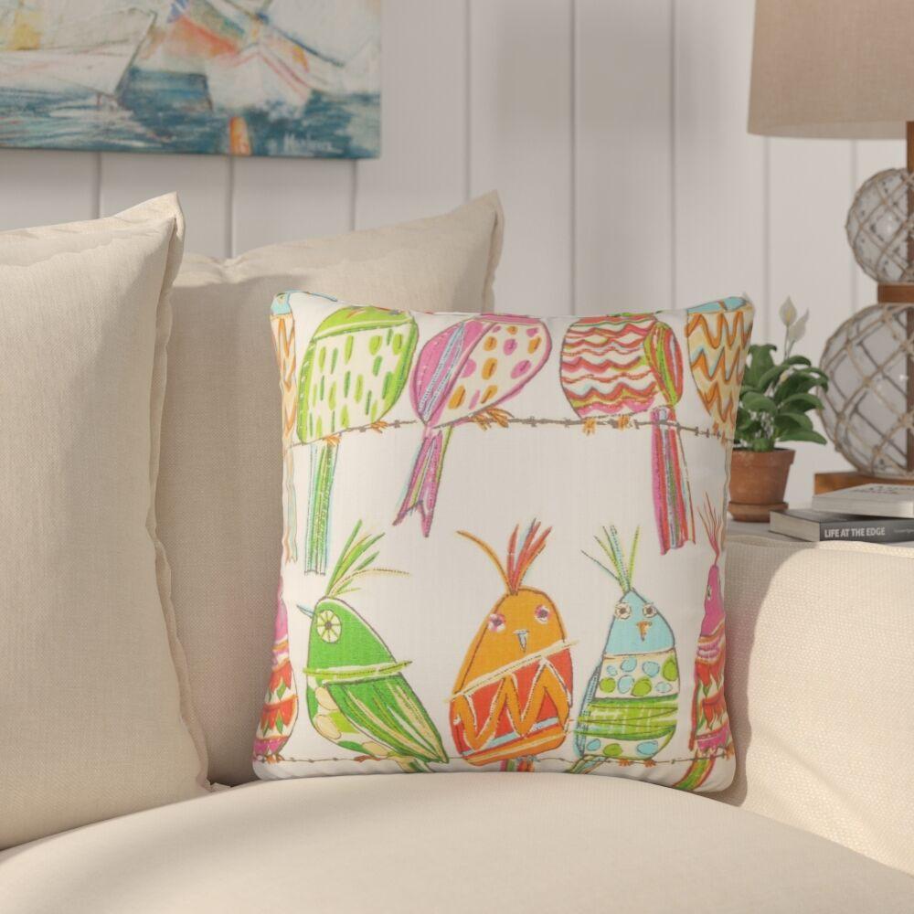 Preetesh Graphic Cotton Throw Pillow