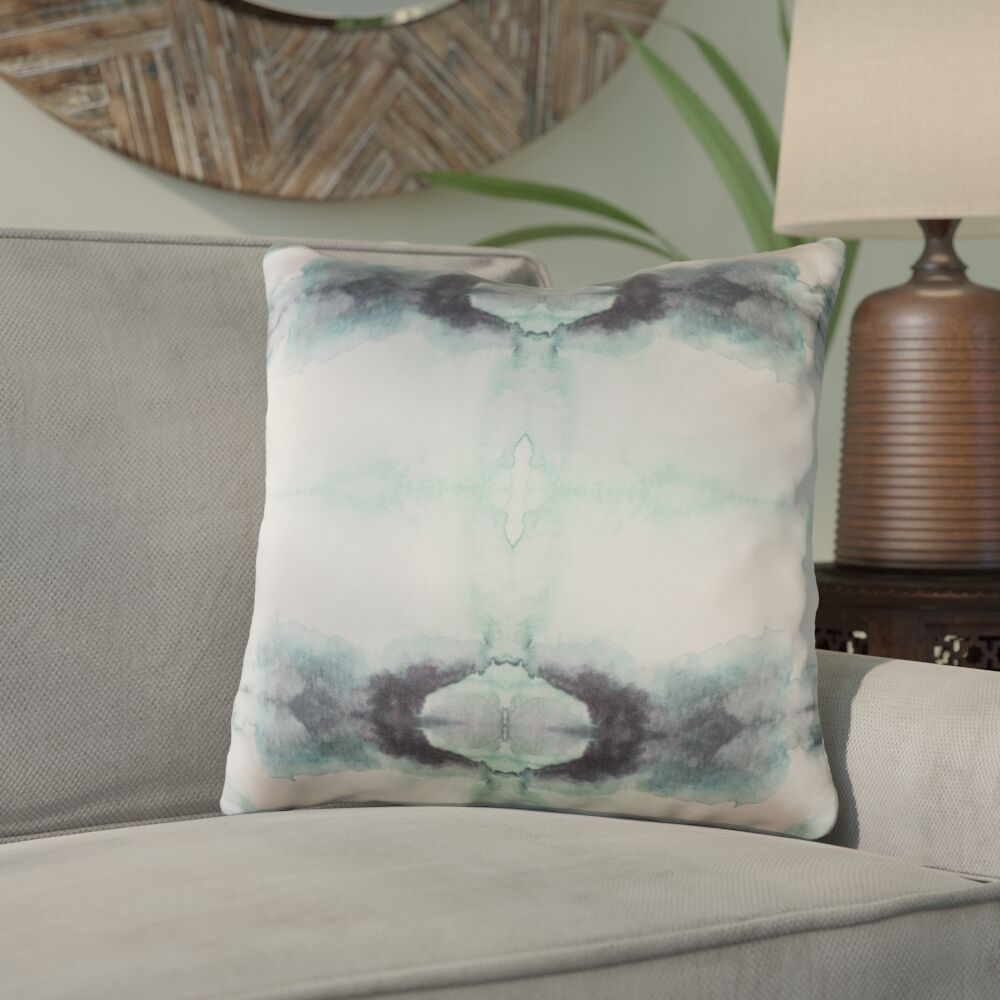 Antram Silk Throw Pillow Size: 20
