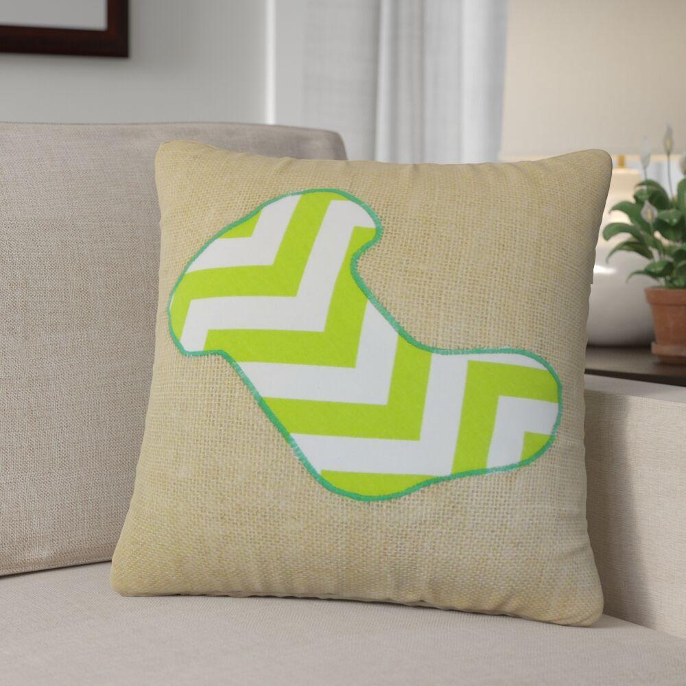 Christmas Stocking Linen Throw Pillow