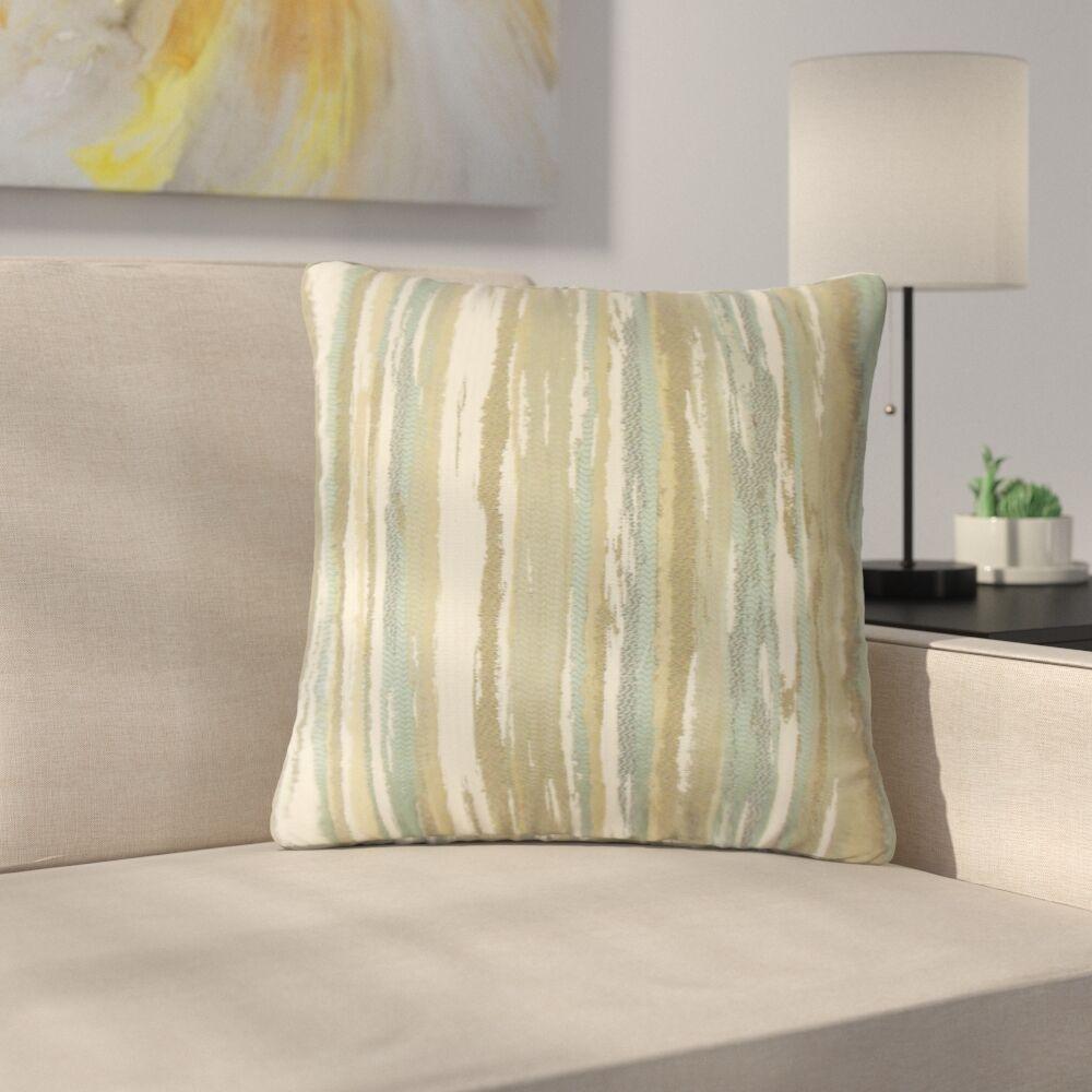 Spero Throw Pillow Color: Sage, Size: 22